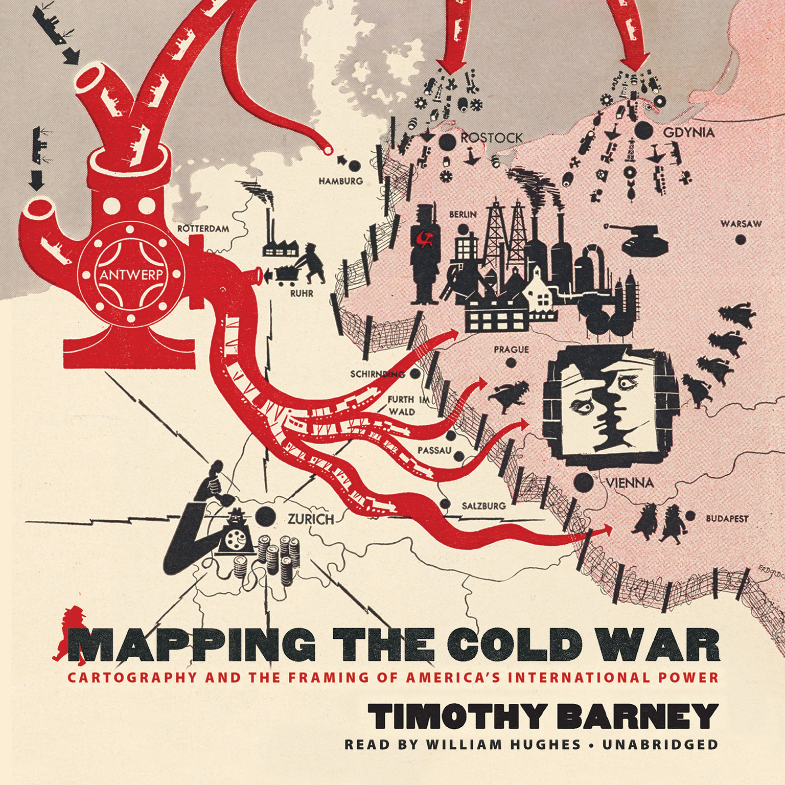 Printable Mapping the Cold War: Cartography and the Framing of America's International Power Audiobook Cover Art