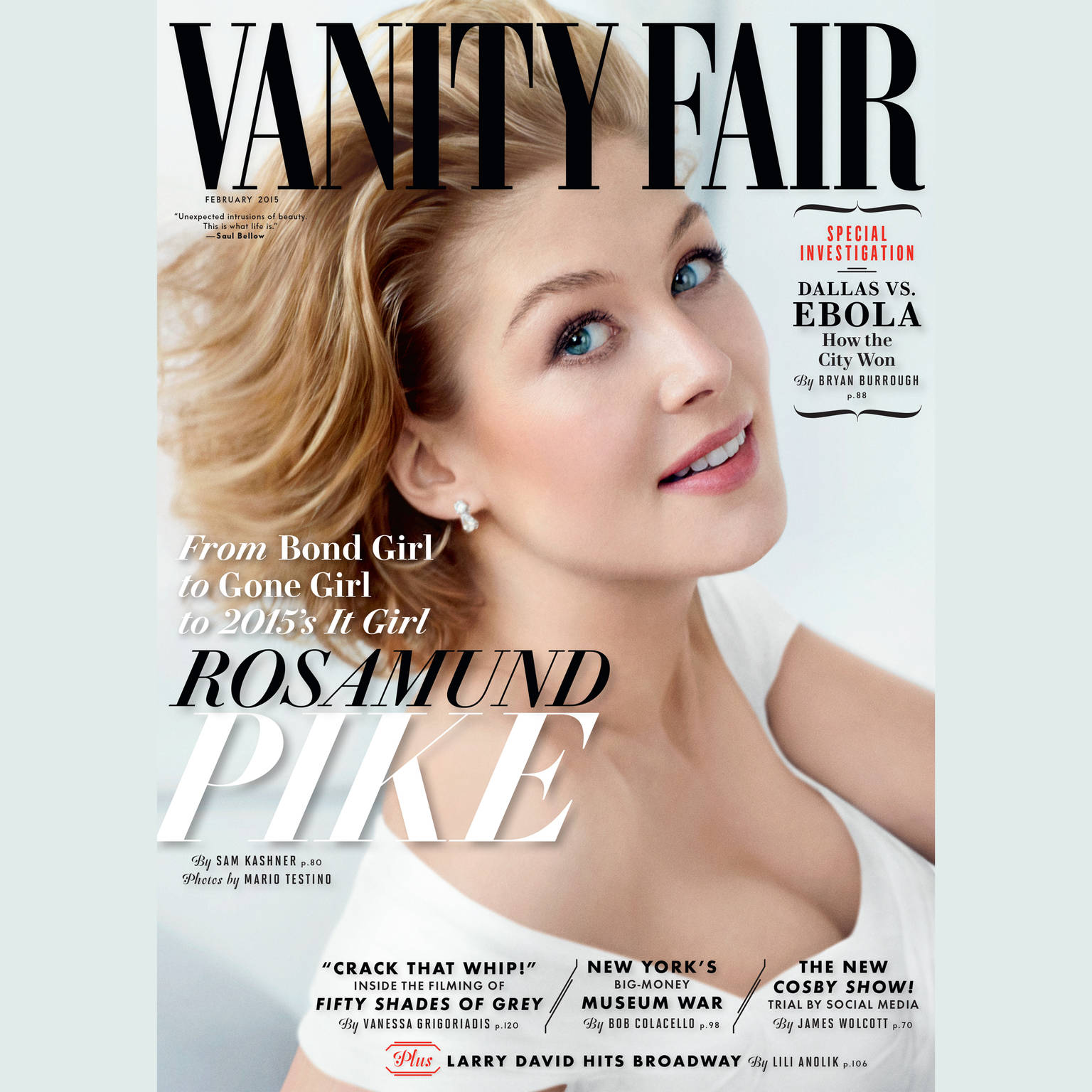 Printable Vanity Fair: February 2015 Issue Audiobook Cover Art