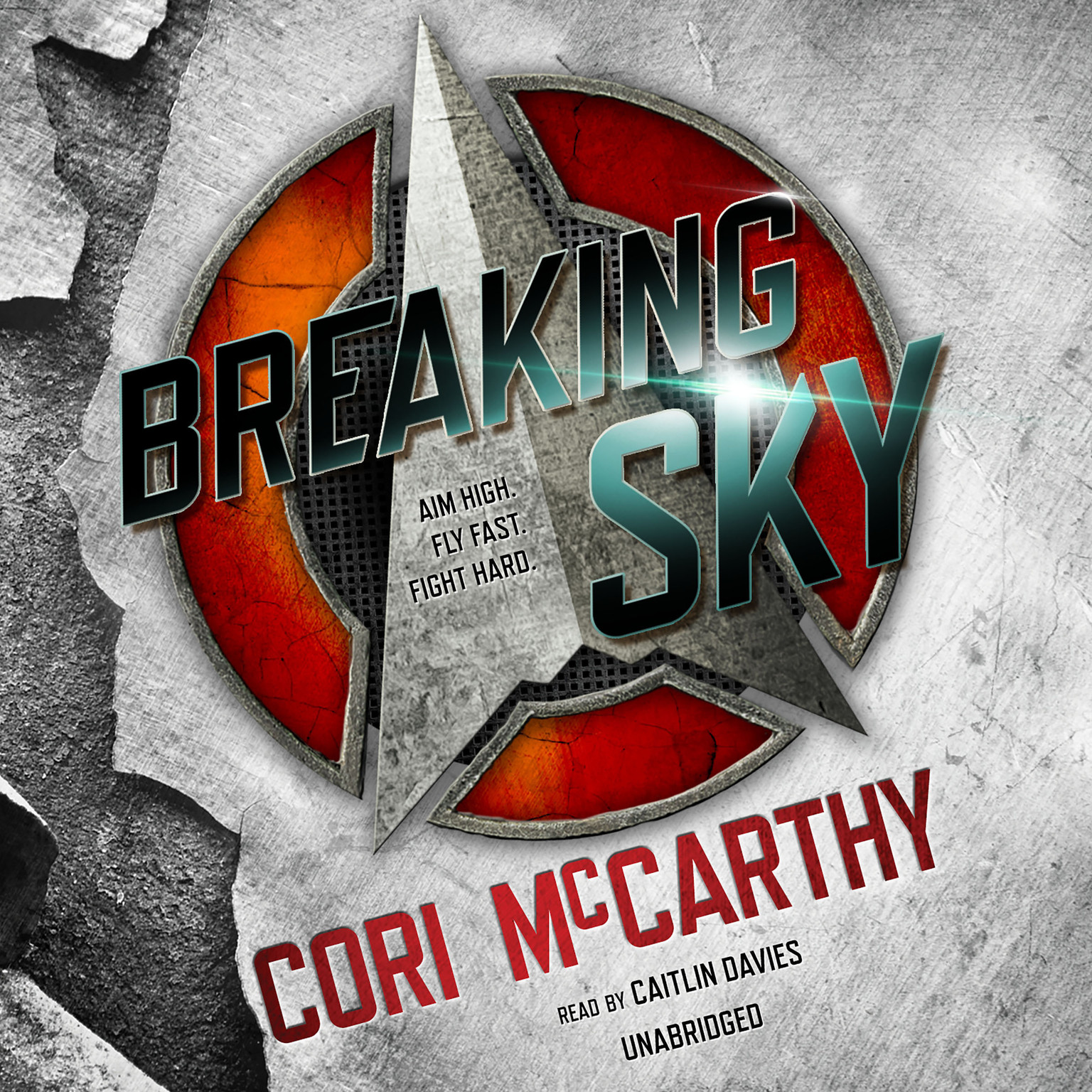 Printable Breaking Sky Audiobook Cover Art