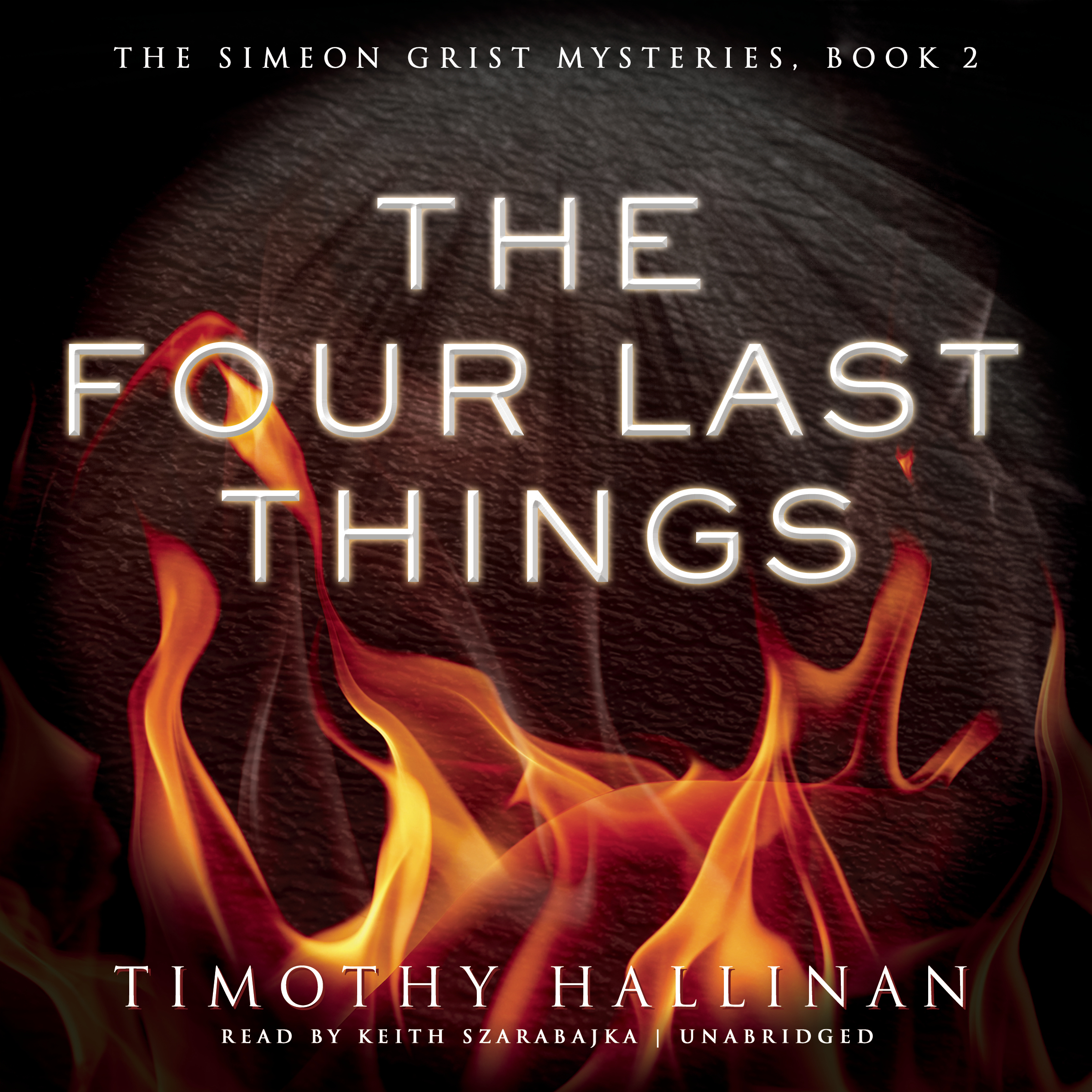 Printable The Four Last Things Audiobook Cover Art