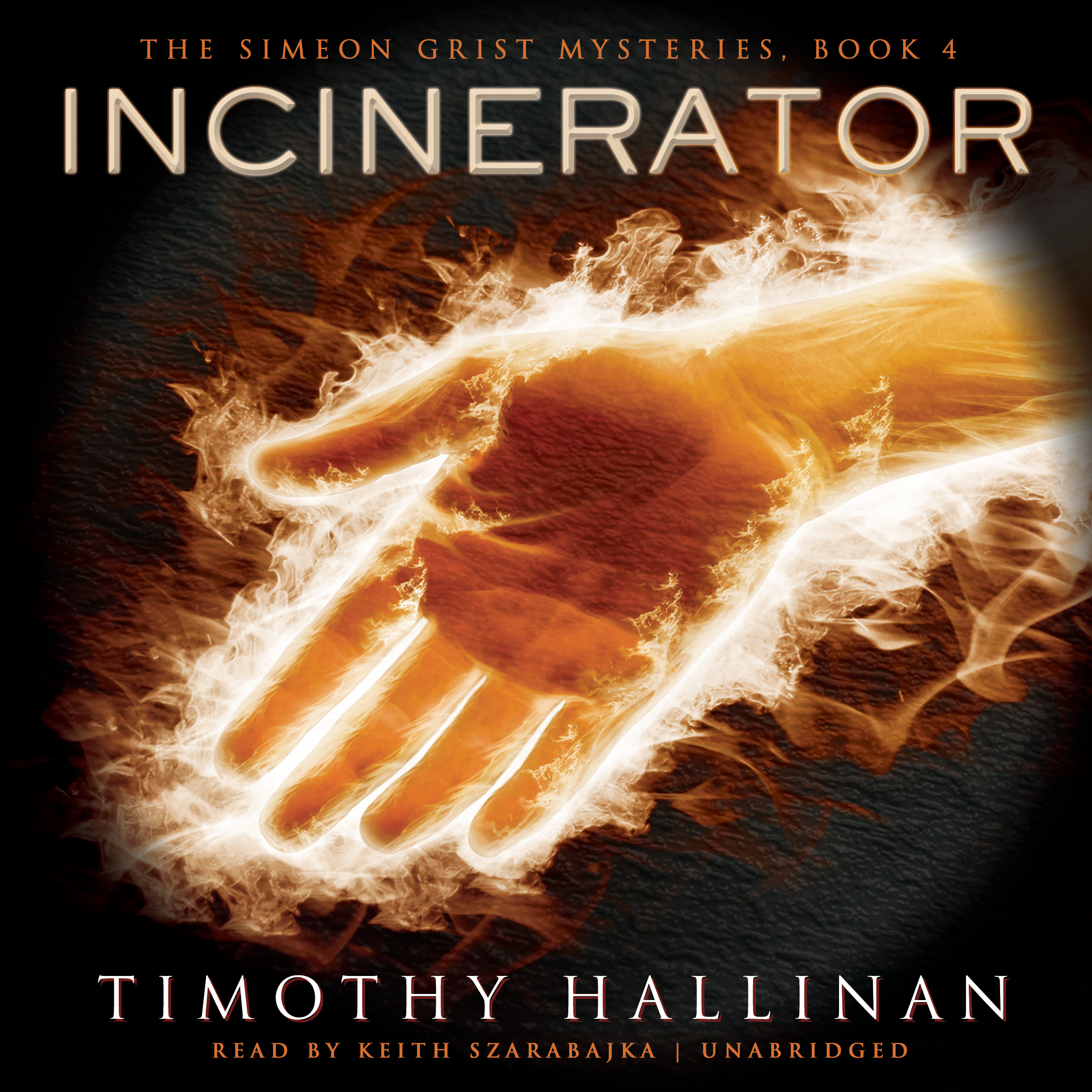 Printable Incinerator Audiobook Cover Art