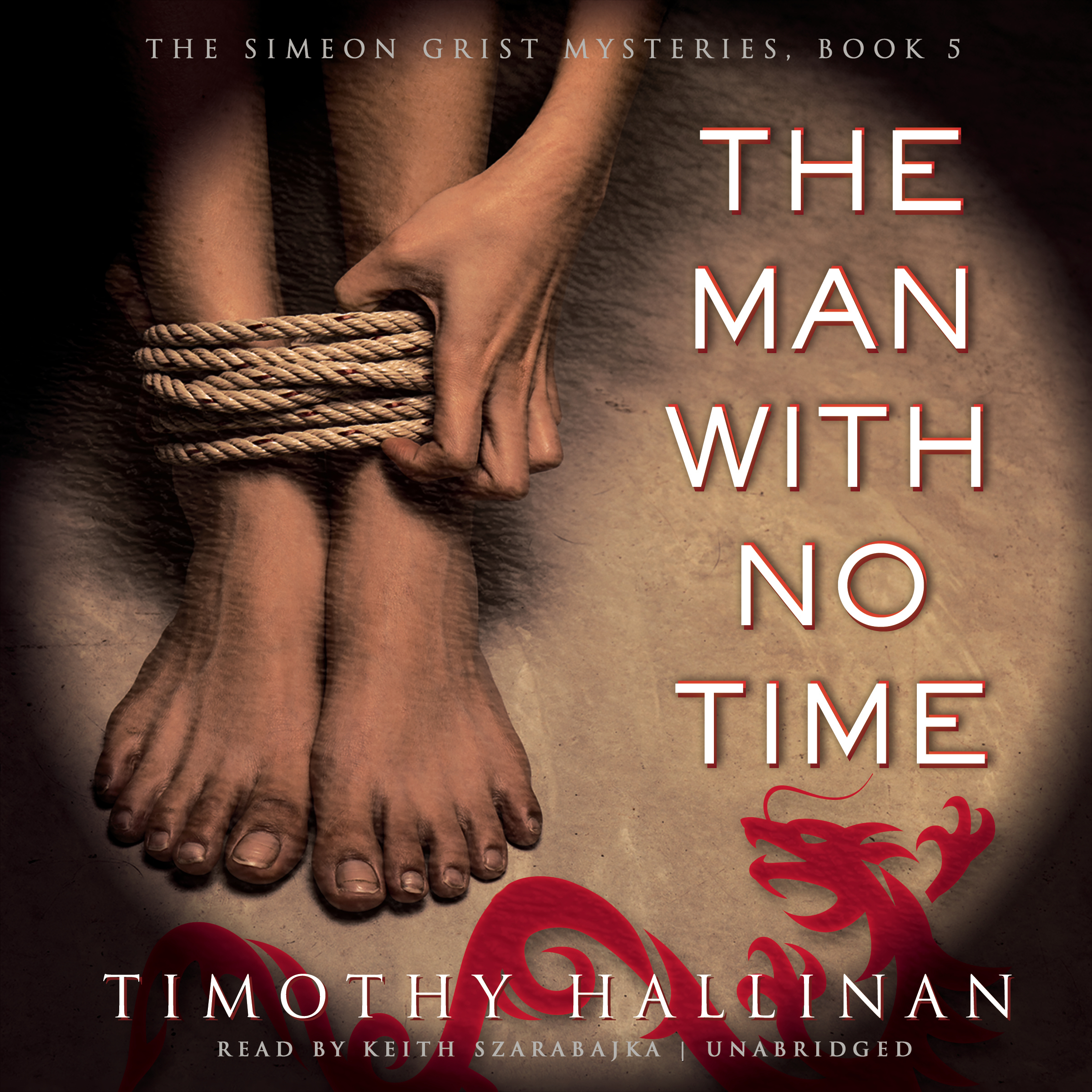 Printable The Man with No Time Audiobook Cover Art