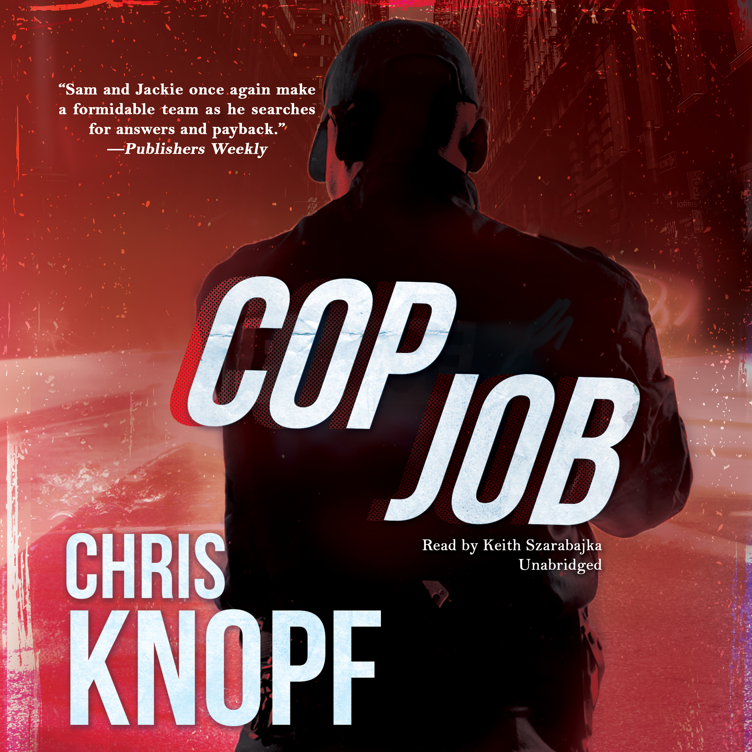 Printable Cop Job Audiobook Cover Art
