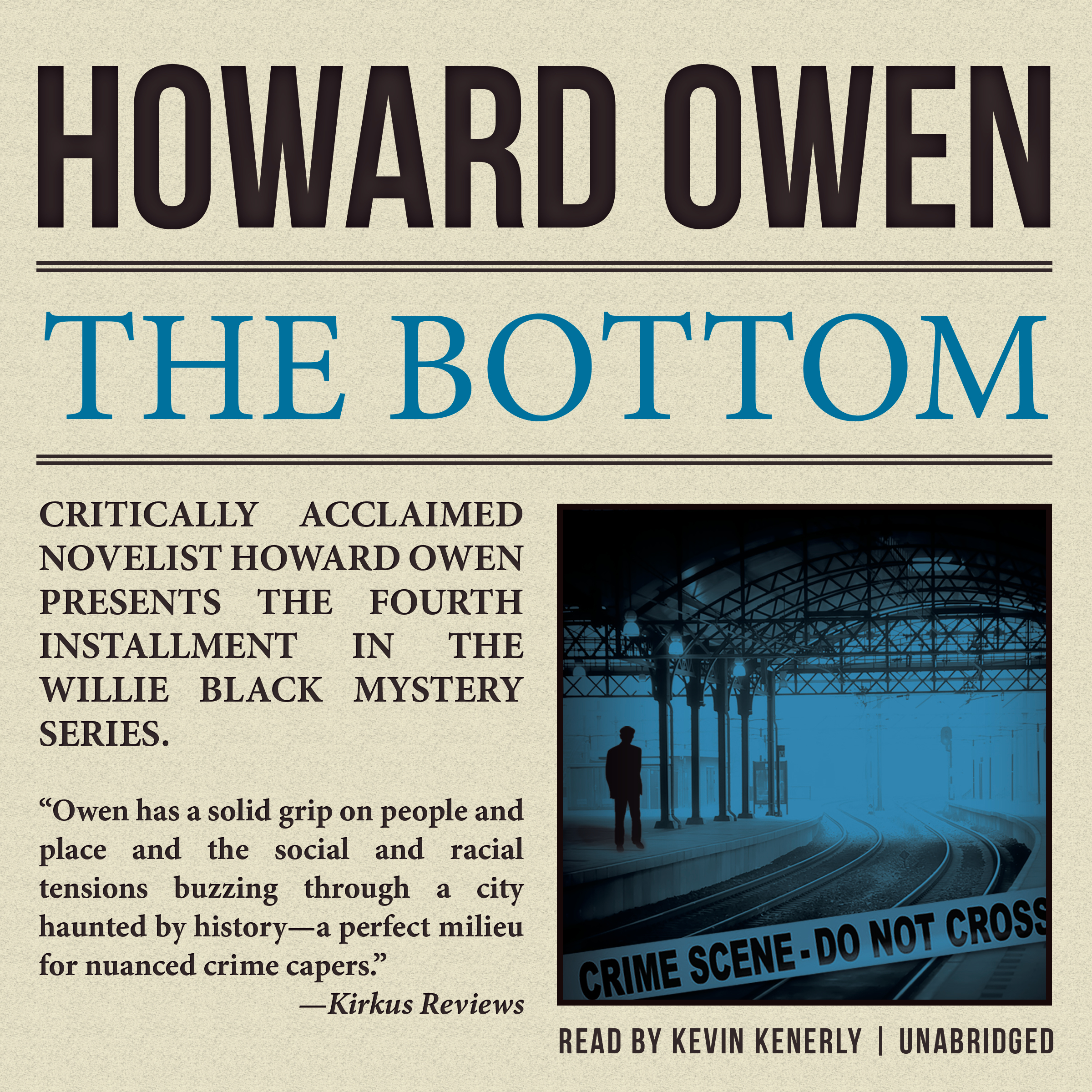 Printable The Bottom: A Willie Black Mystery Audiobook Cover Art