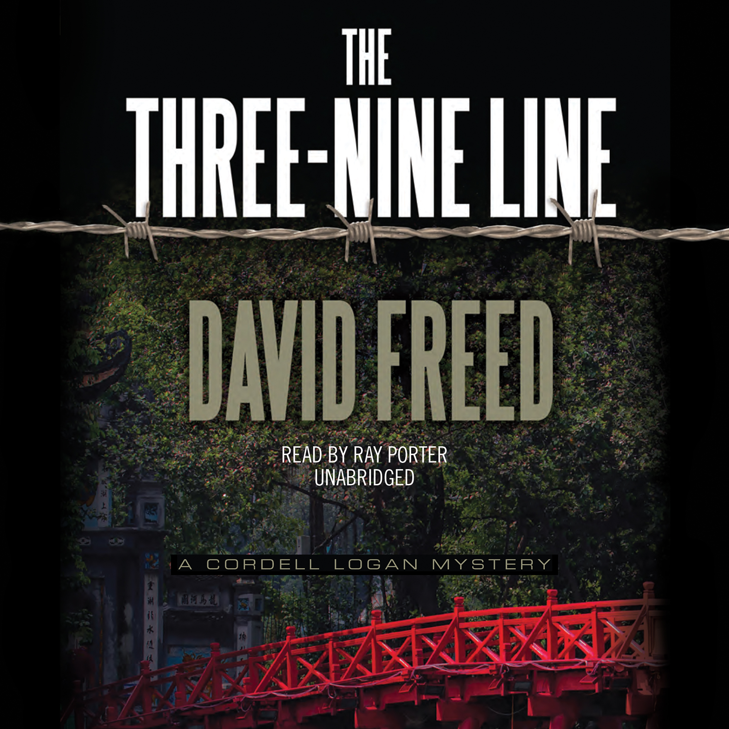 Printable The Three-Nine Line: A Cordell Logan Mystery Audiobook Cover Art