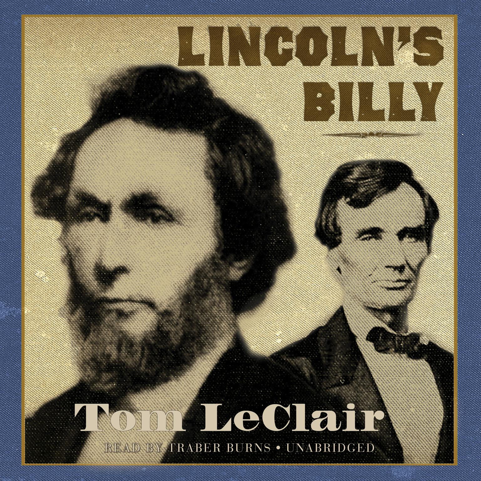 Printable Lincoln's Billy Audiobook Cover Art