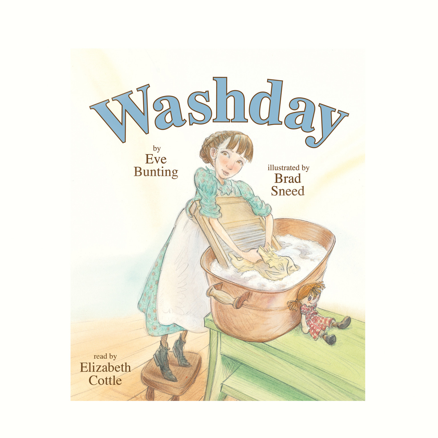 Printable Washday Audiobook Cover Art