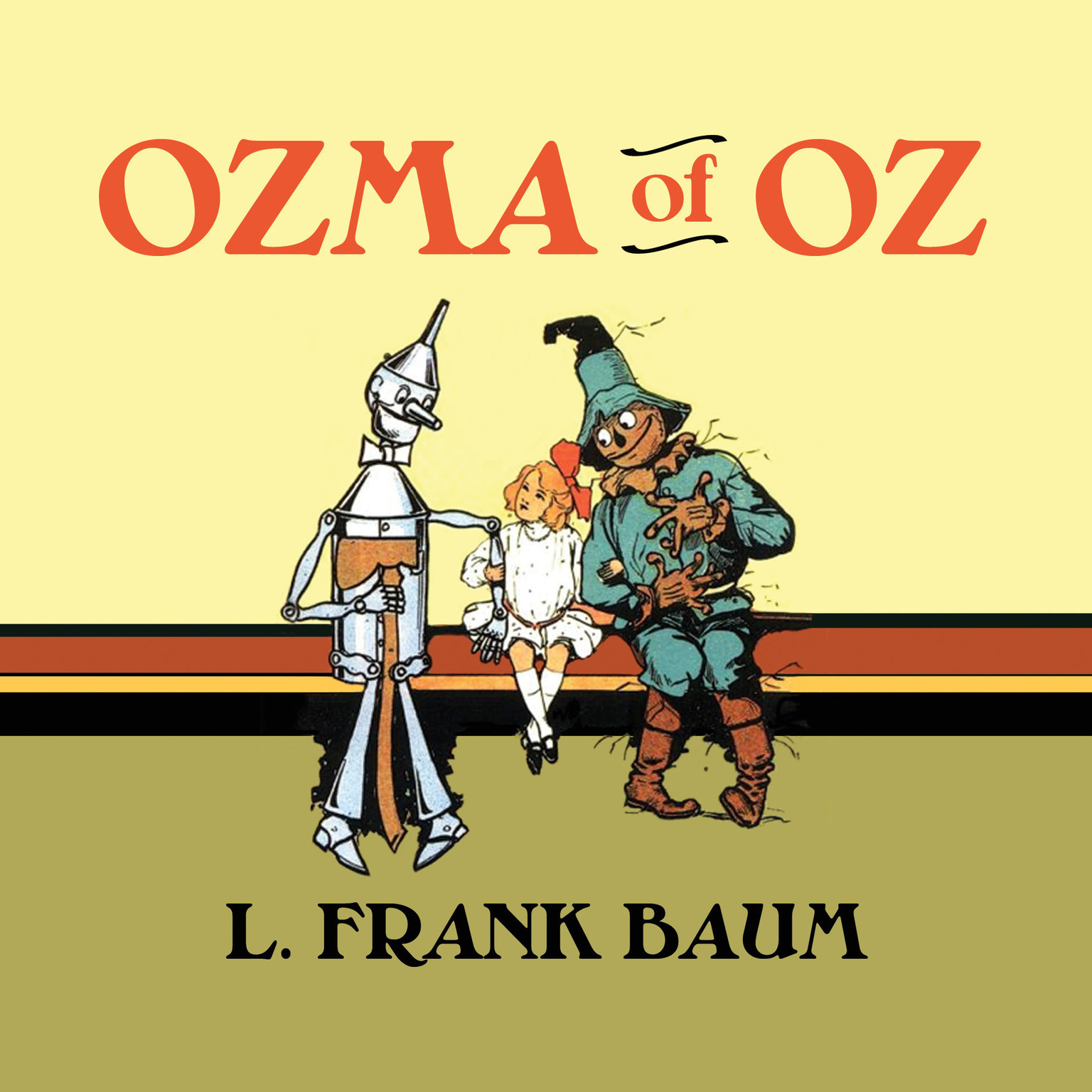 Printable Ozma of Oz Audiobook Cover Art