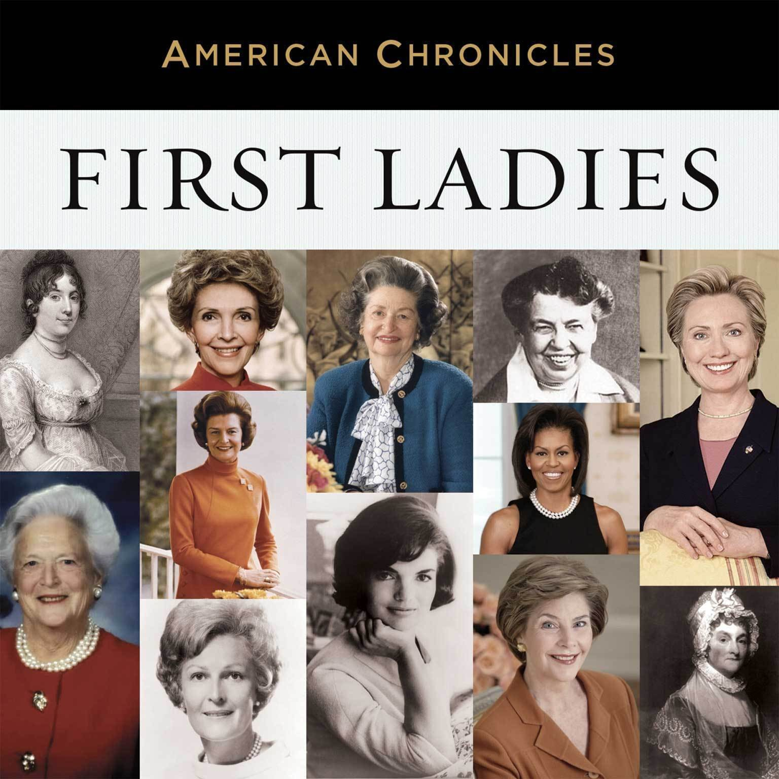 Printable NPR American Chronicles: First Ladies Audiobook Cover Art