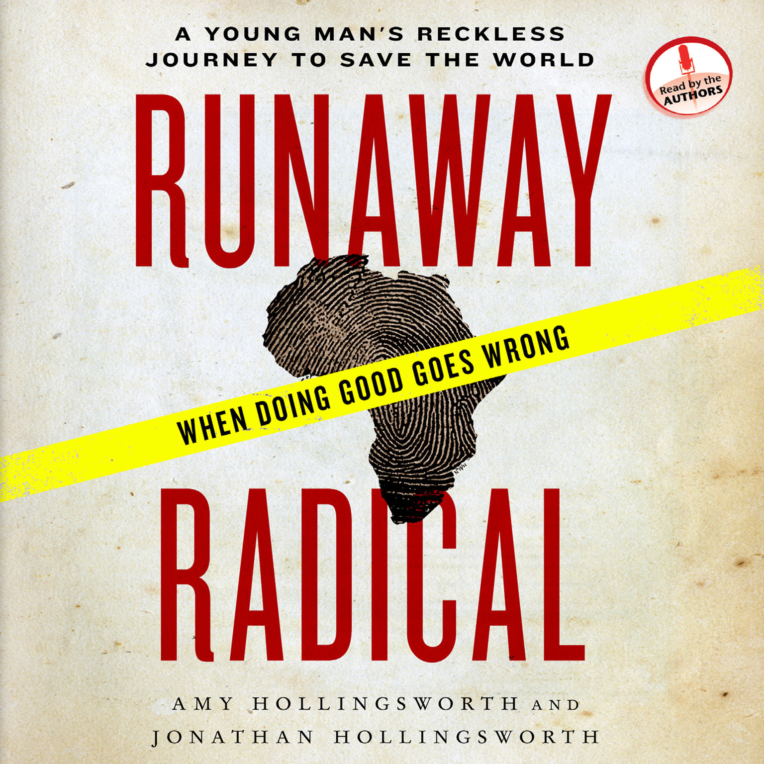 Printable Runaway Radical: A Young Man's Reckless Journey to Save the World Audiobook Cover Art
