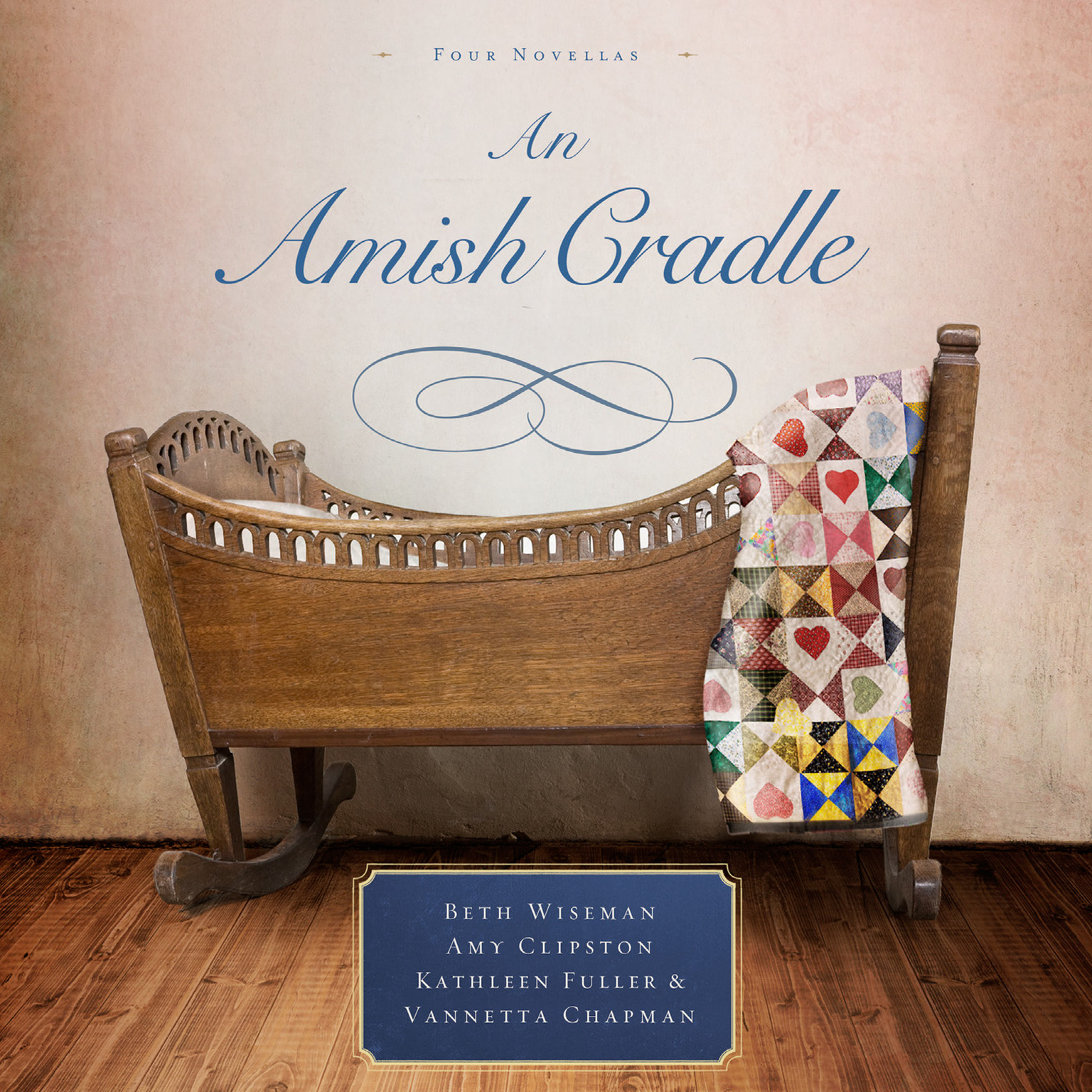 Printable An Amish Cradle Audiobook Cover Art