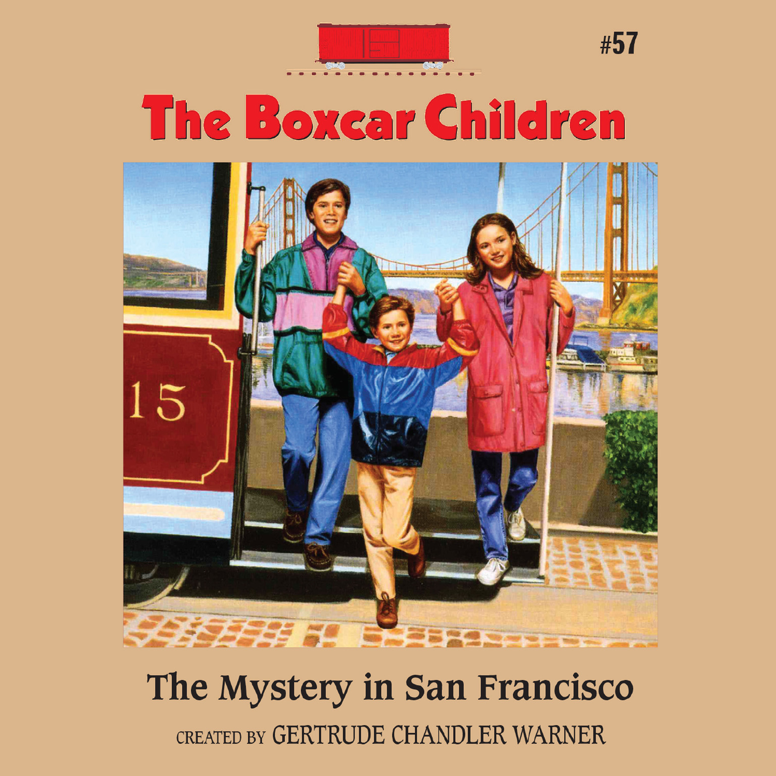 Printable The Mystery in San Francisco Audiobook Cover Art