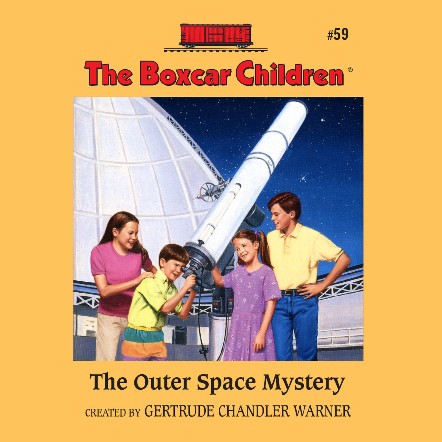Printable The Outer Space Mystery Audiobook Cover Art