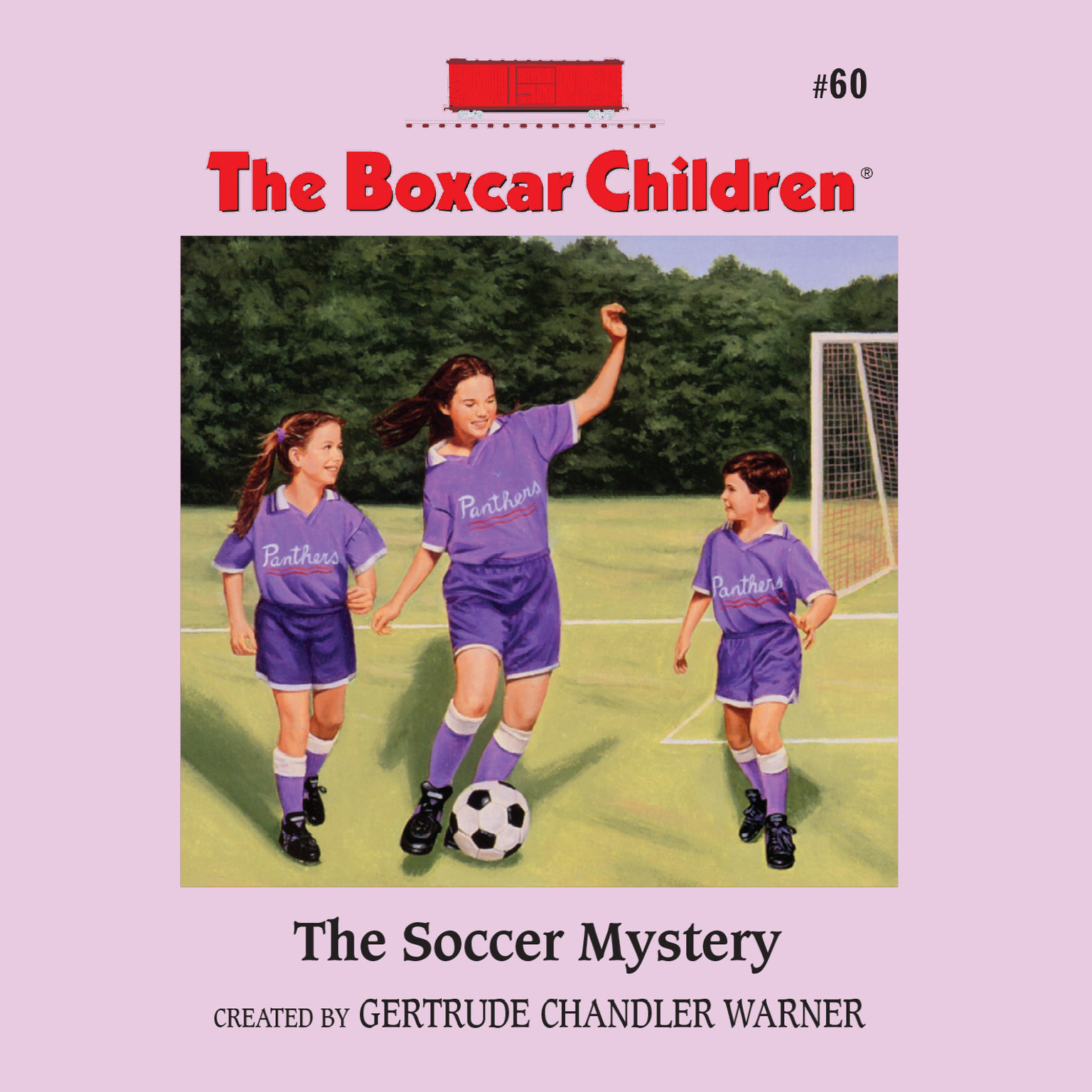 Printable The Soccer Mystery Audiobook Cover Art