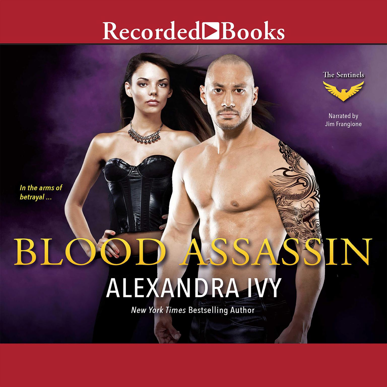 Printable Blood Assassin Audiobook Cover Art