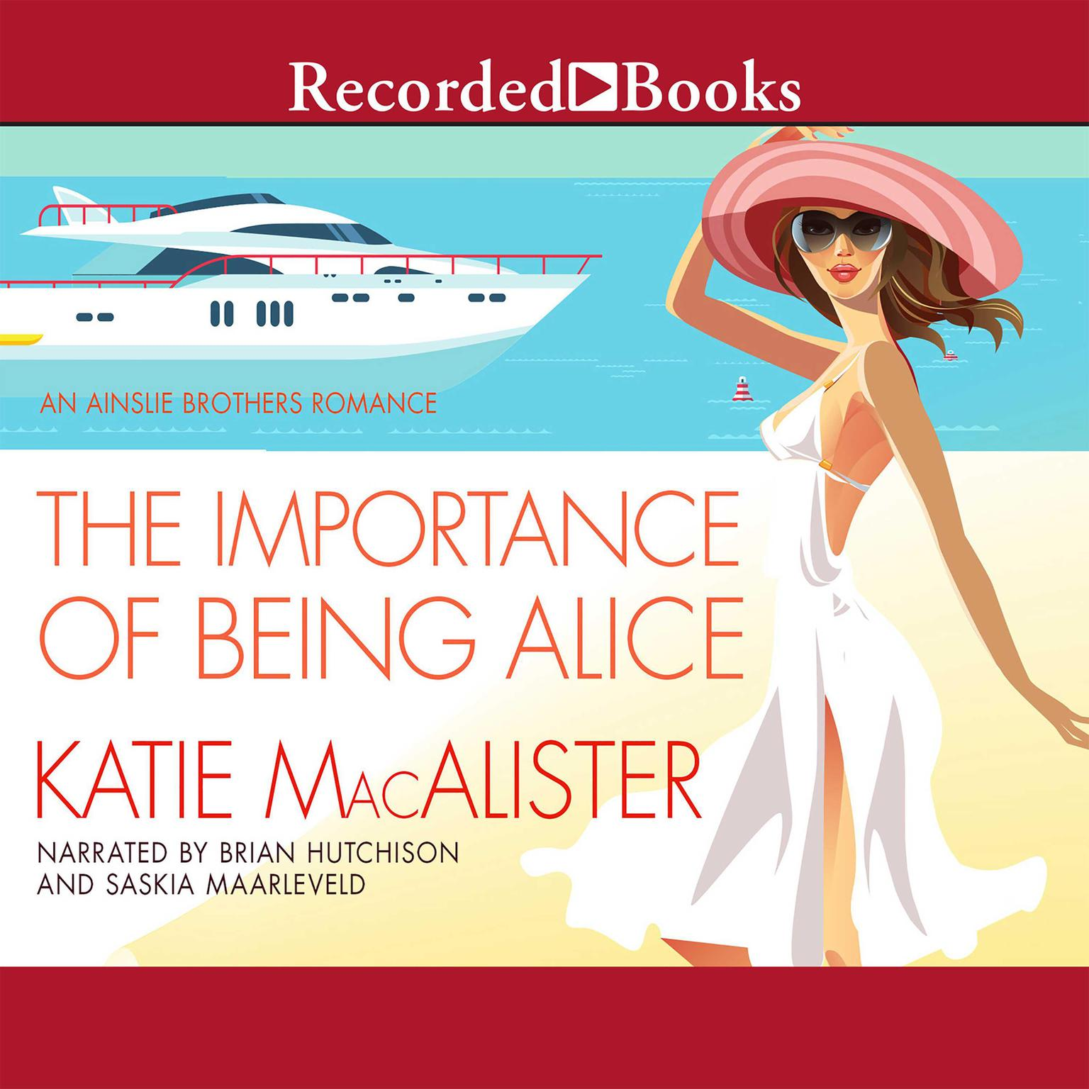 Printable The Importance of Being Alice Audiobook Cover Art