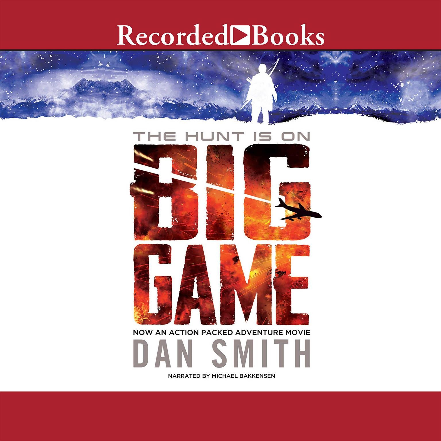 Printable Big Game Audiobook Cover Art