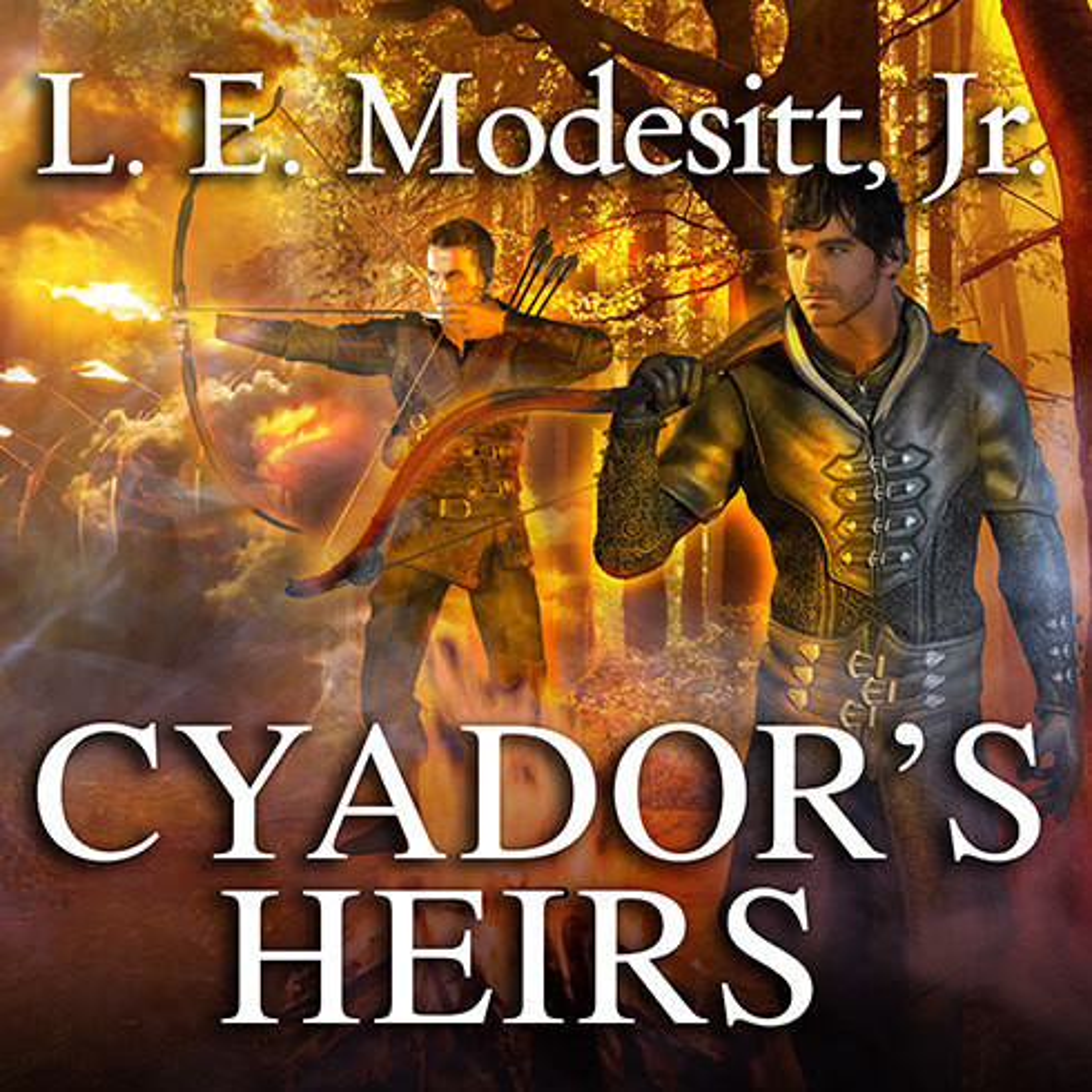 Printable Cyador's Heirs Audiobook Cover Art