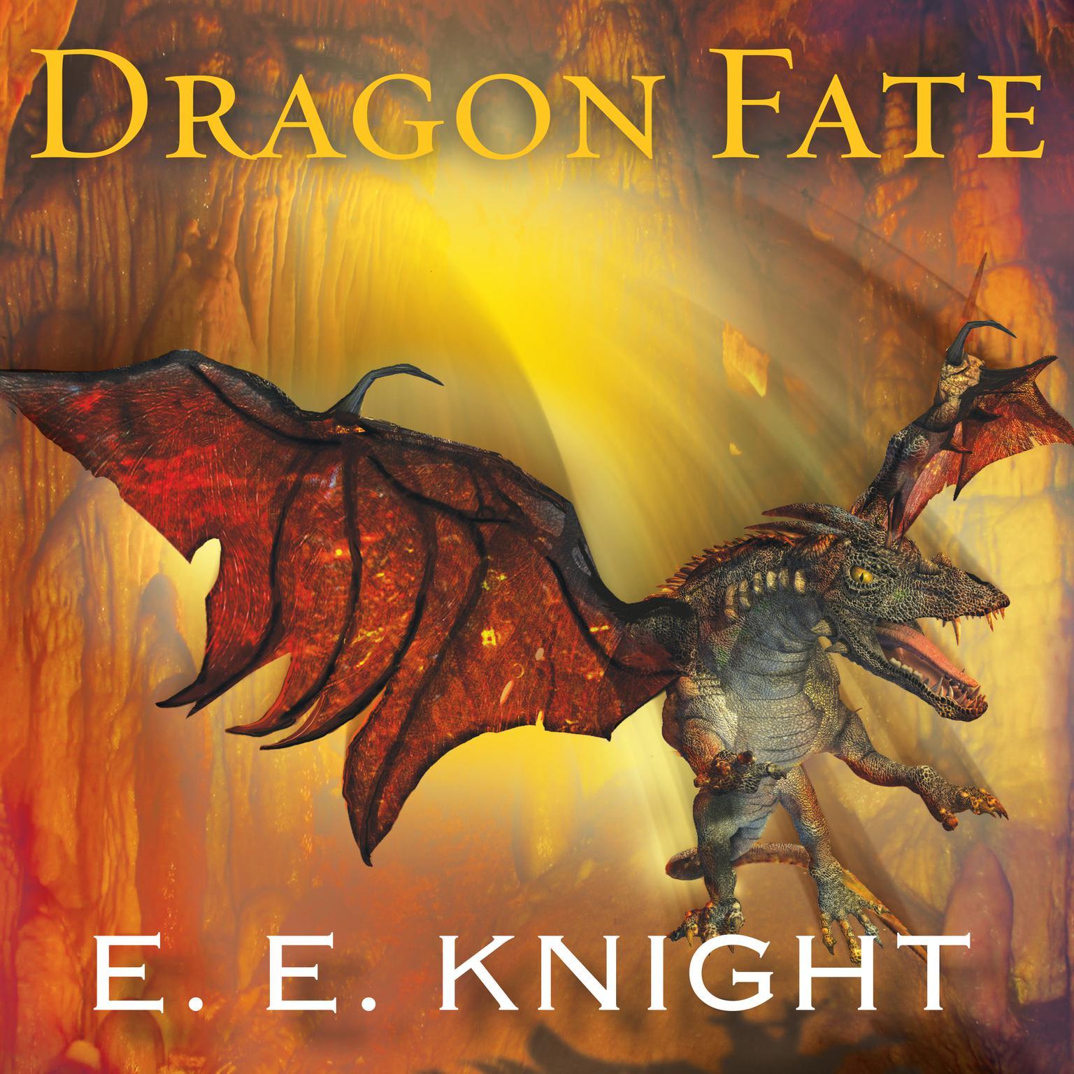 Printable Dragon Fate Audiobook Cover Art