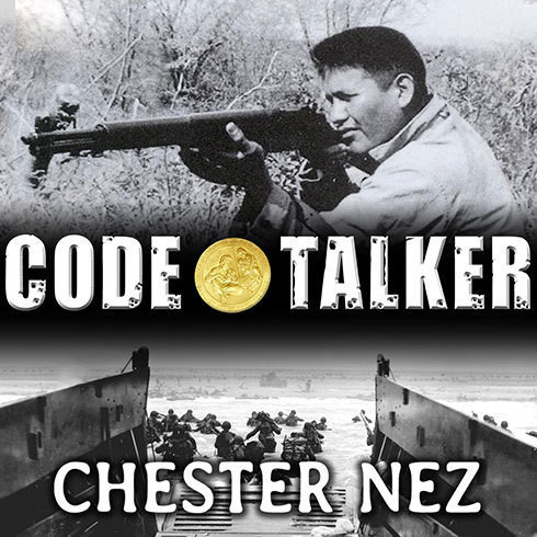 Printable Code Talker: The First and Only Memoir by One of the Original Navajo Code Talkers of WWII Audiobook Cover Art