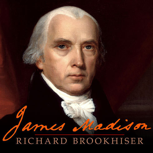 Printable James Madison Audiobook Cover Art
