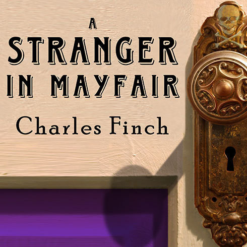 Printable A Stranger in Mayfair Audiobook Cover Art