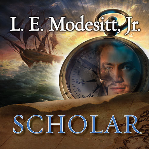 Printable Scholar: A Novel in the Imager Portfolio Audiobook Cover Art