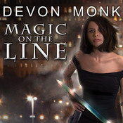 Magic on the Line: An Allie Beckstrom Novel, by Devon Monk