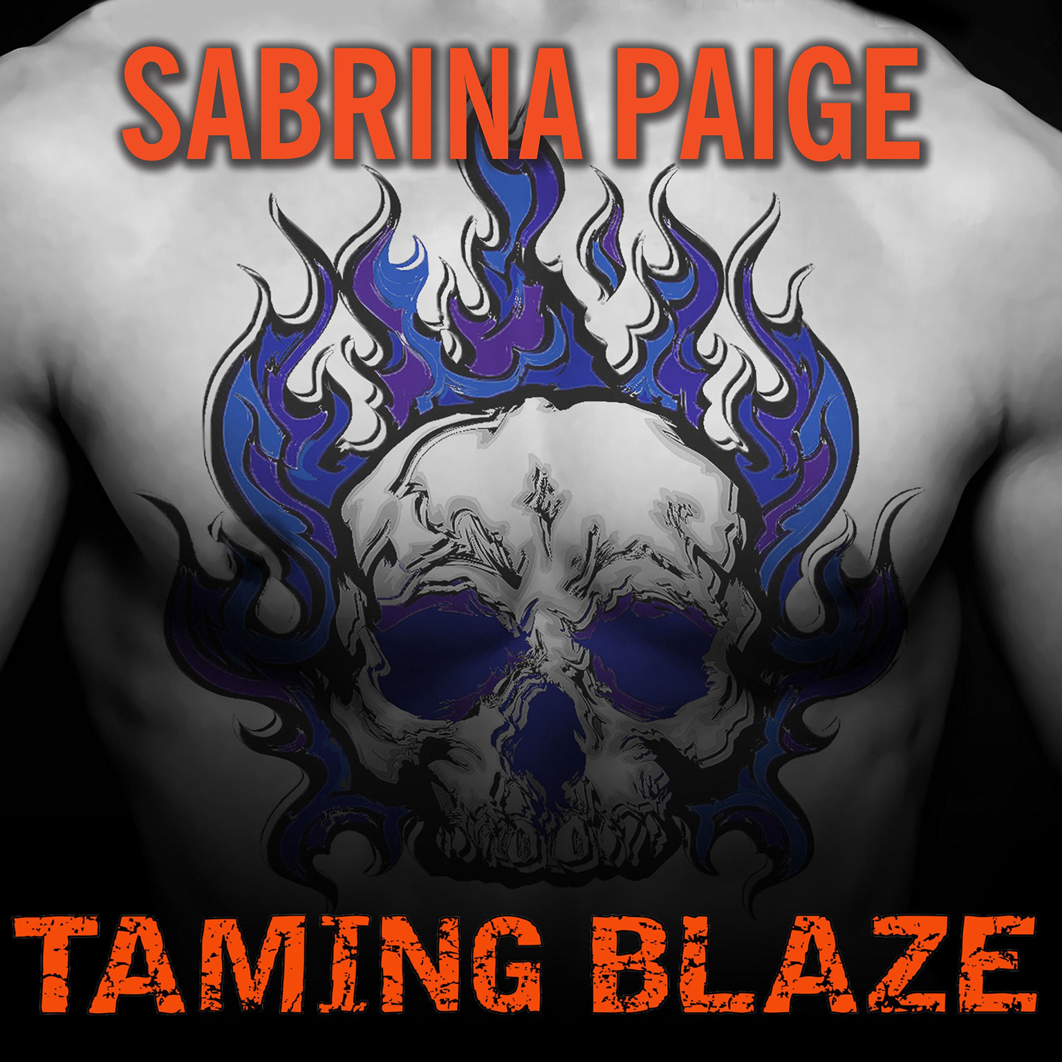Printable Taming Blaze Audiobook Cover Art