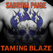 Taming Blaze Audiobook, by Sabrina Paige