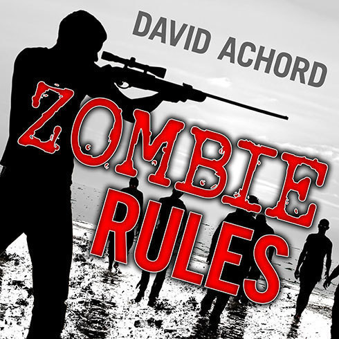 Printable Zombie Rules Audiobook Cover Art