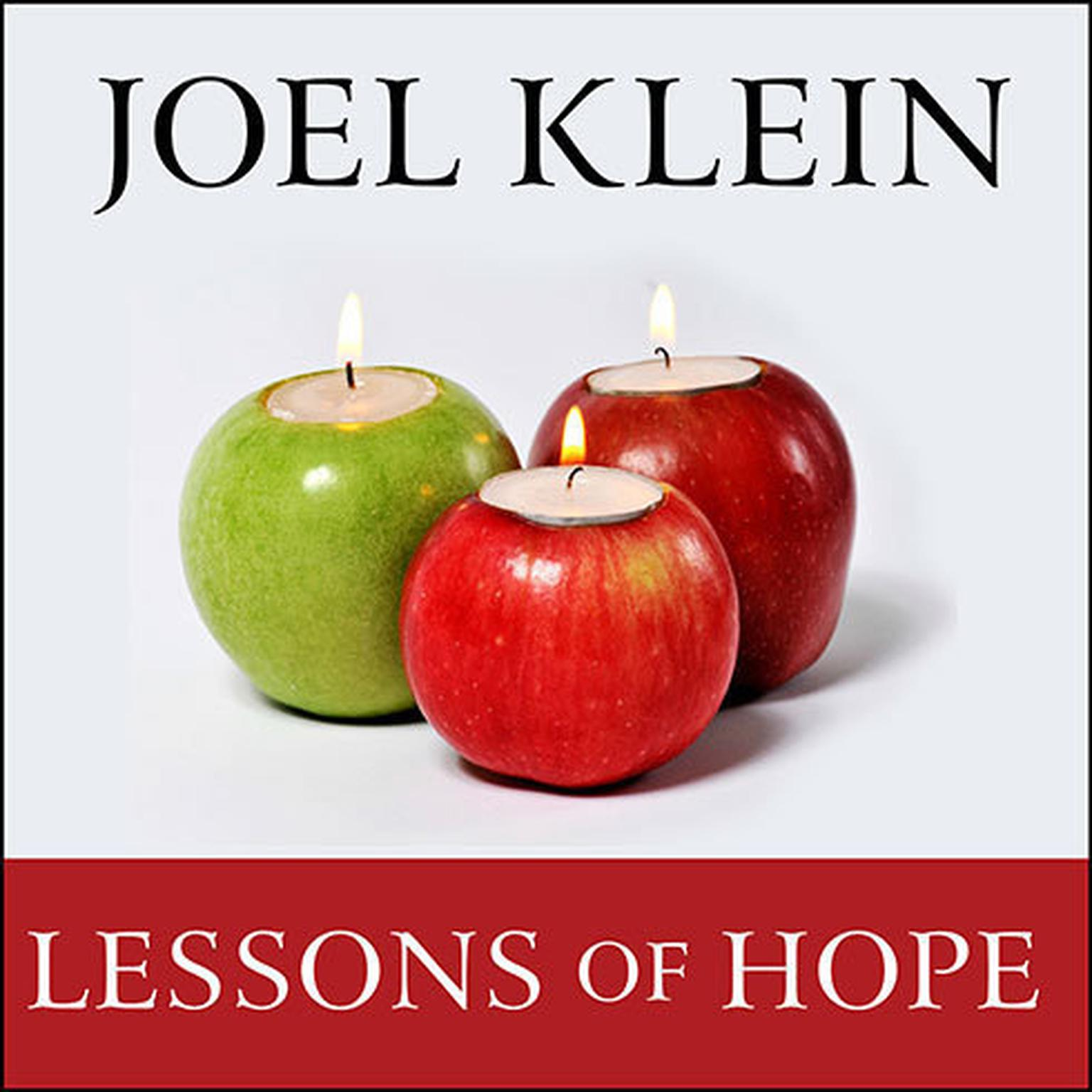 Printable Lessons of Hope: How to Fix Our Schools Audiobook Cover Art