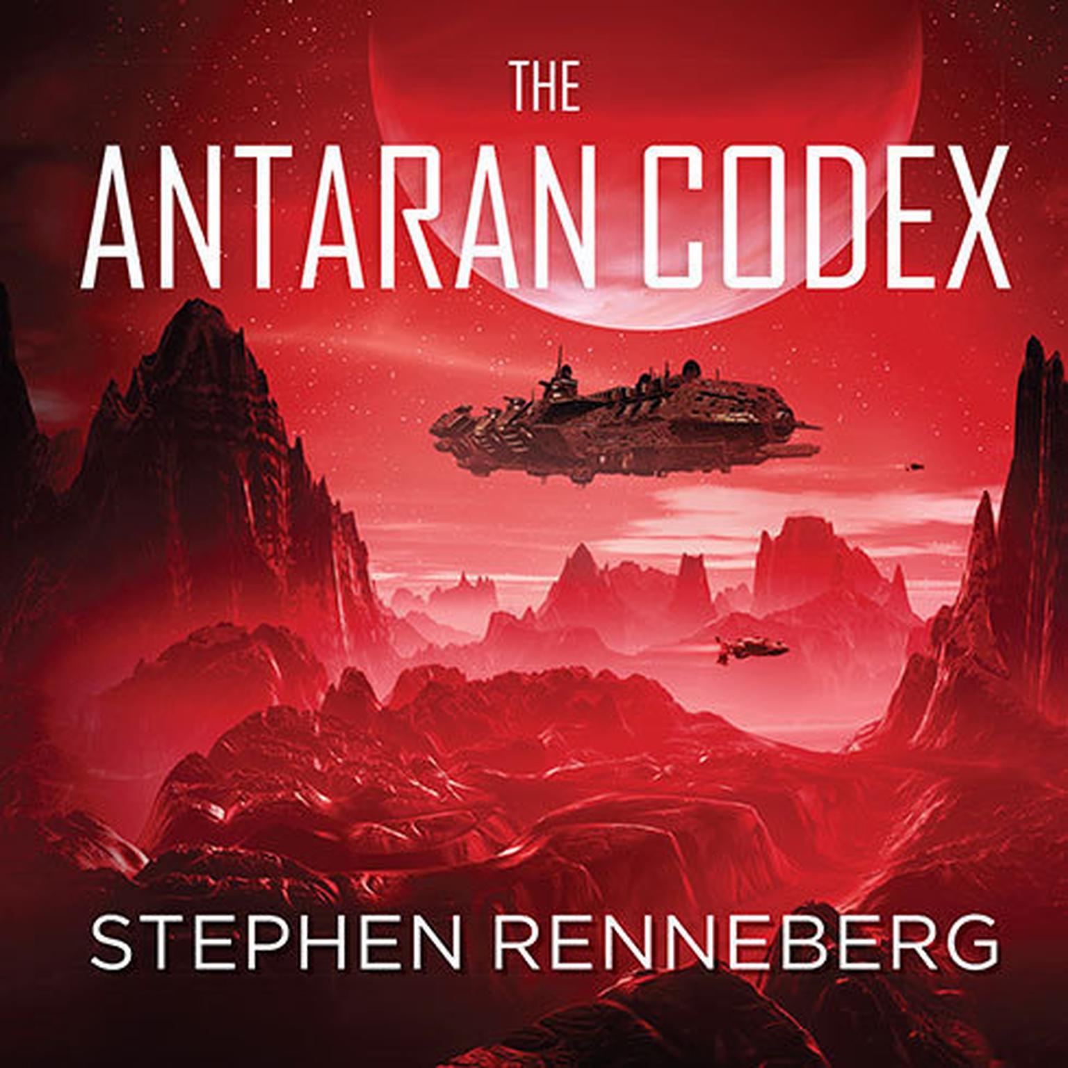 Printable The Antaran Codex Audiobook Cover Art