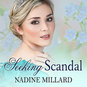 Seeking Scandal Audiobook, by Nadine Millard
