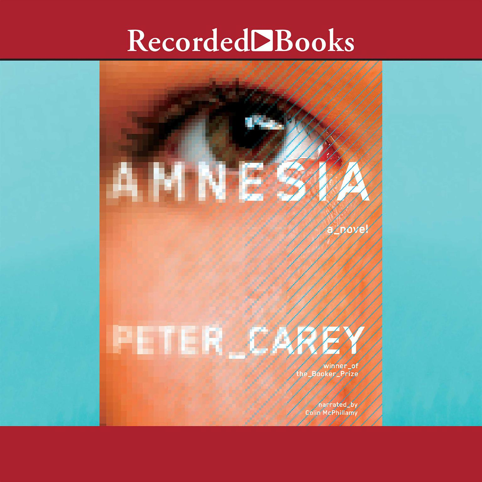 Printable Amnesia Audiobook Cover Art