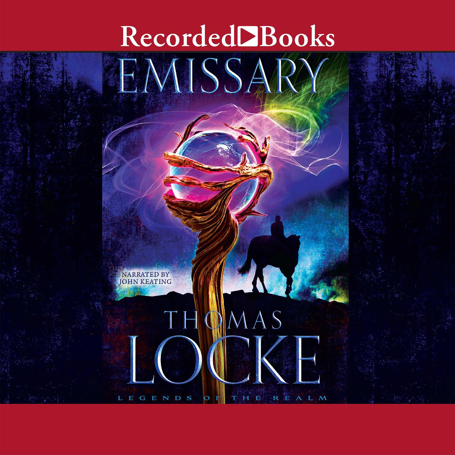 Printable Emissary Audiobook Cover Art