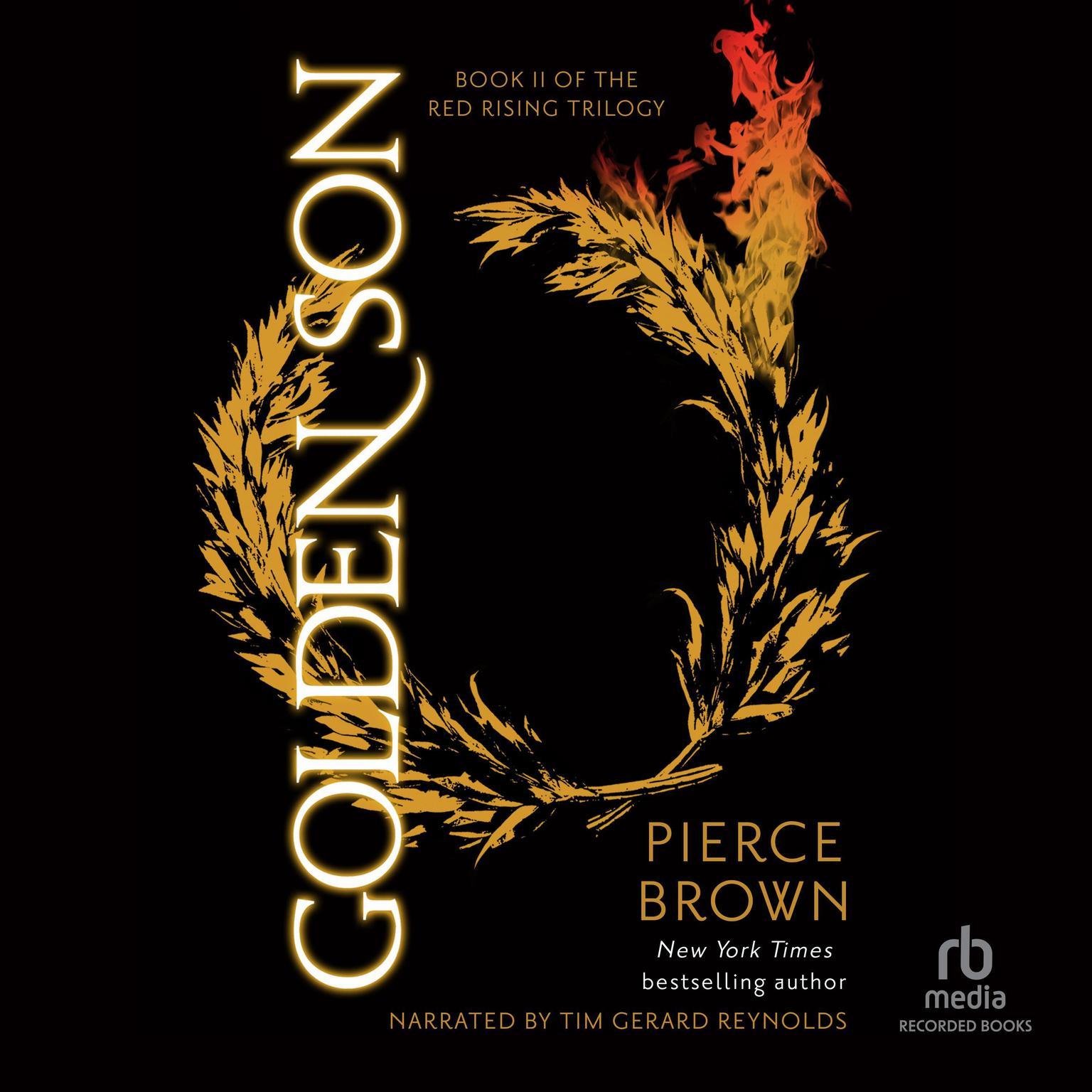 Printable Golden Son Audiobook Cover Art