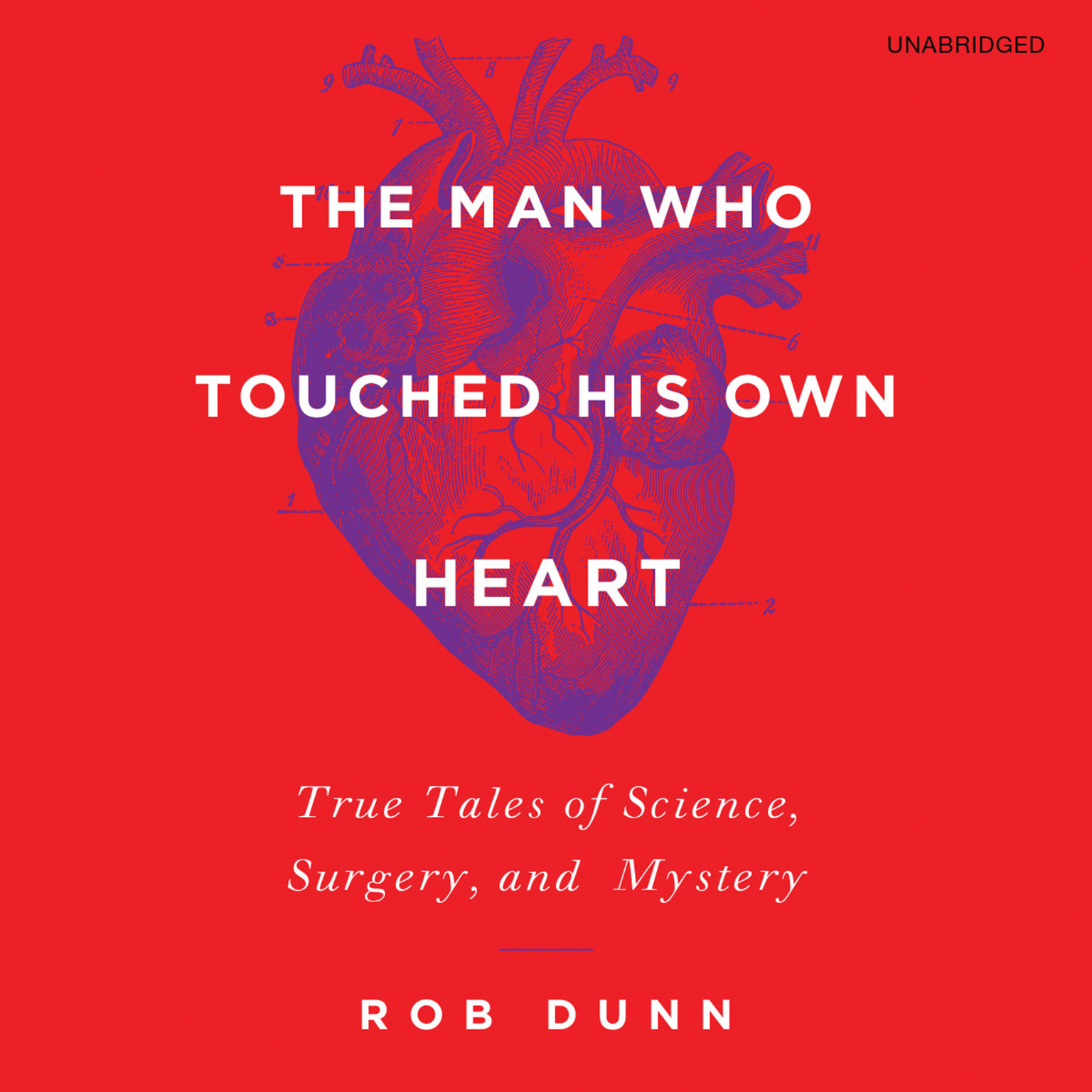 Printable The Man Who Touched His Own Heart: True Tales of Science, Surgery, and Mystery Audiobook Cover Art