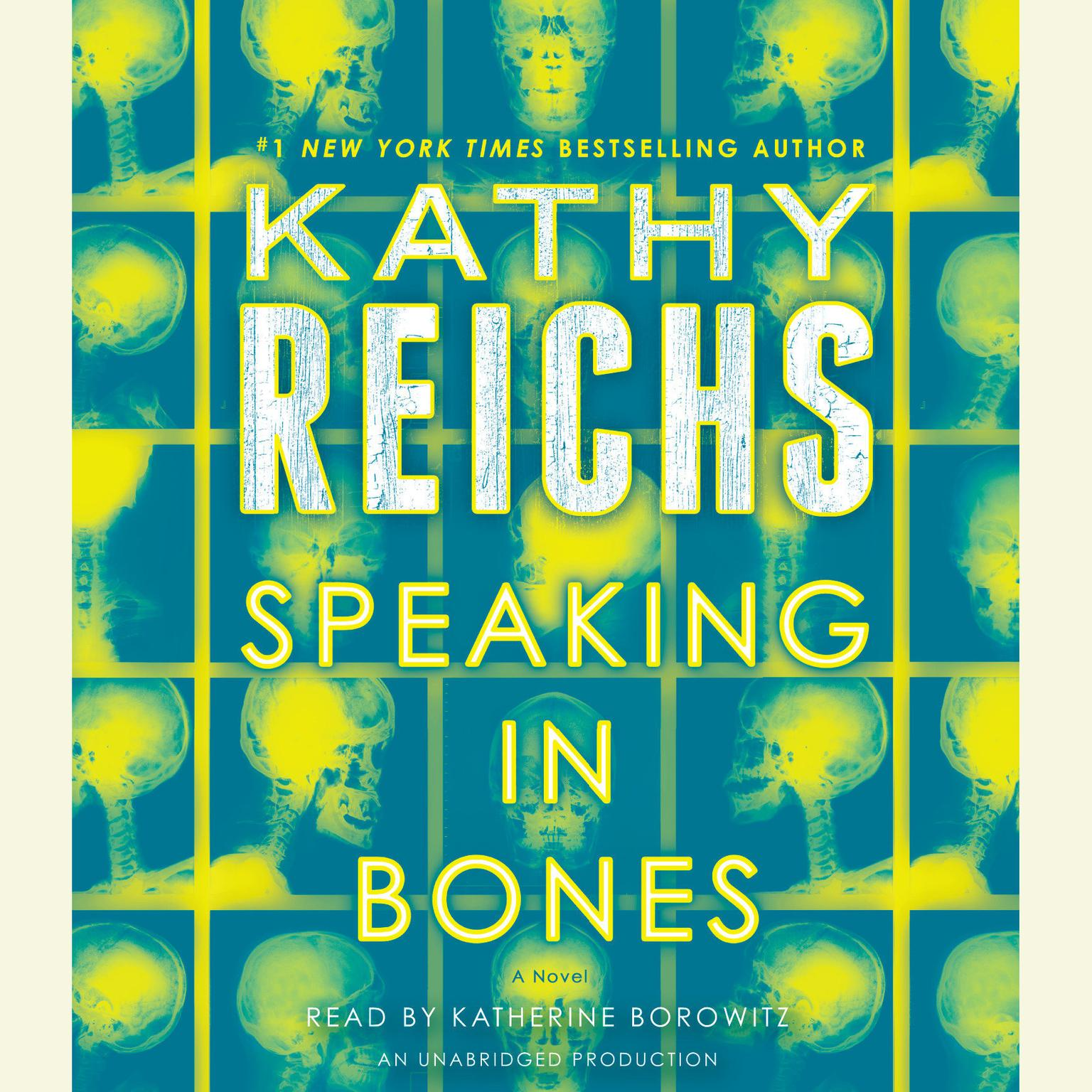 Printable Speaking in Bones: A Novel Audiobook Cover Art