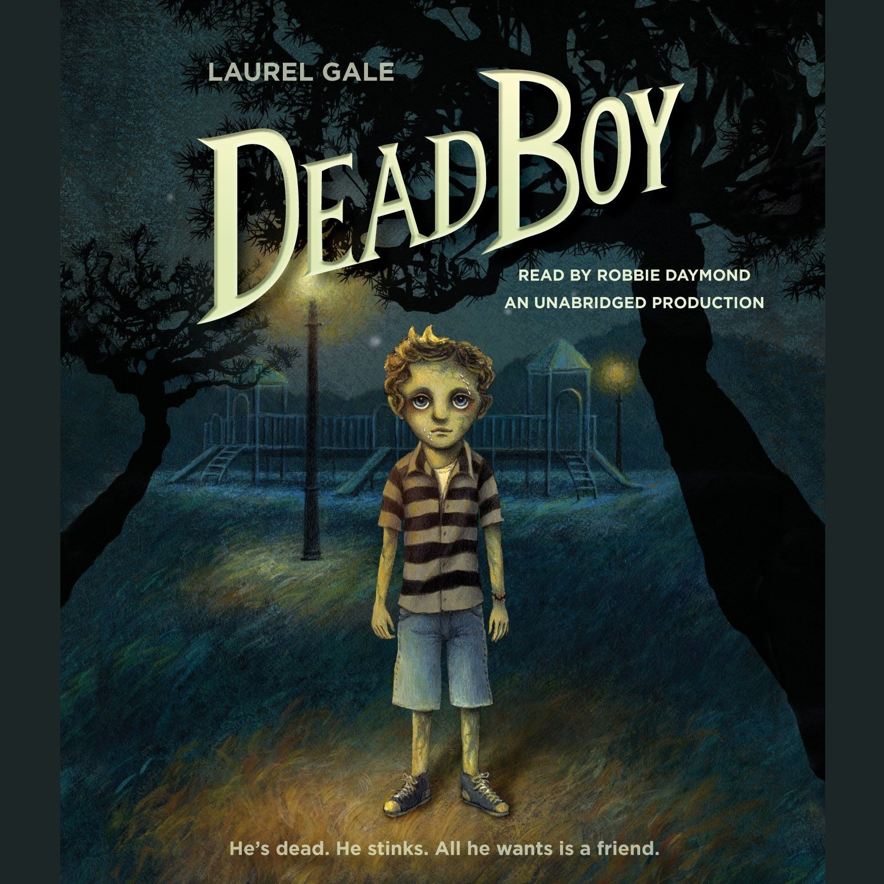 Printable Dead Boy Audiobook Cover Art
