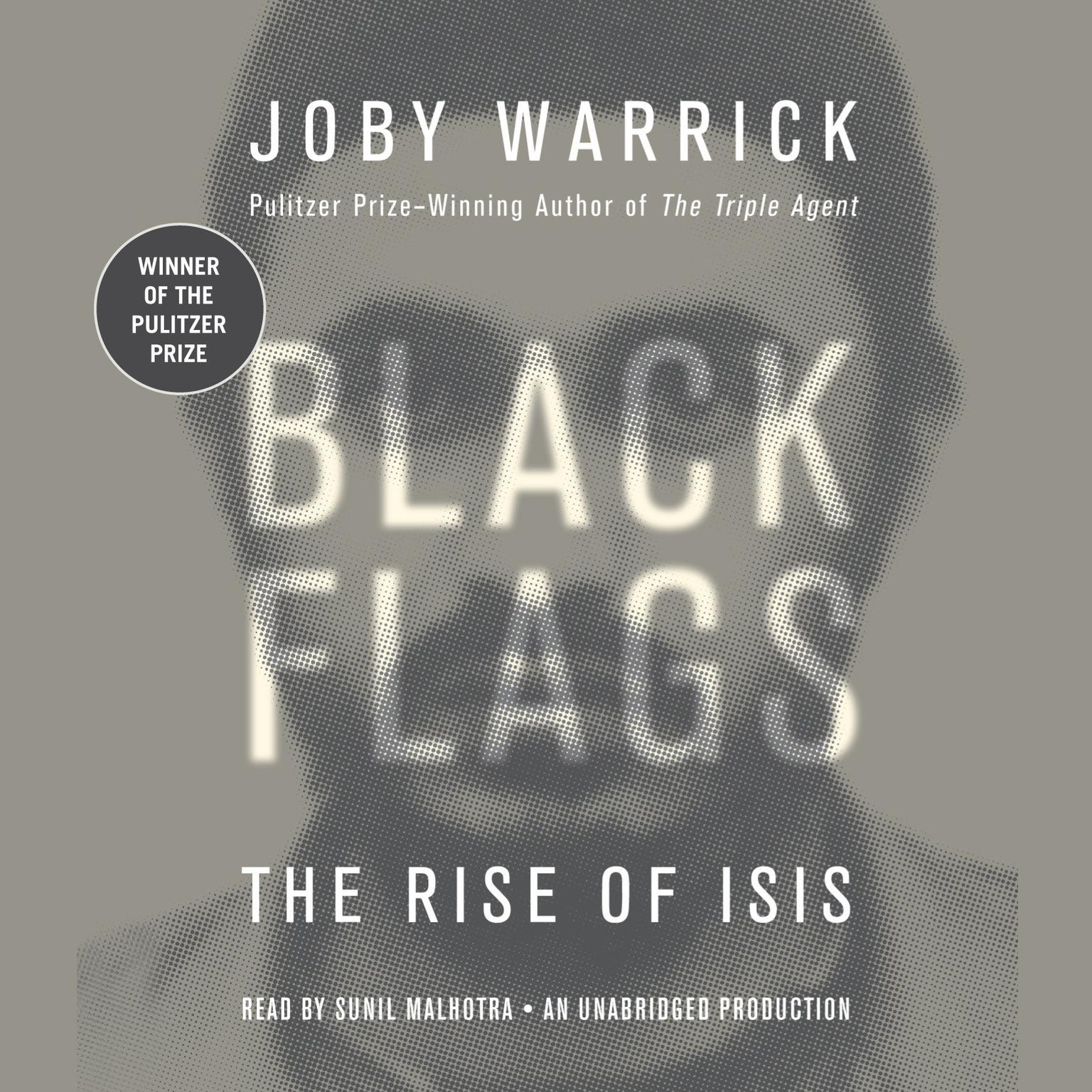 Printable Black Flags: The Rise of ISIS Audiobook Cover Art