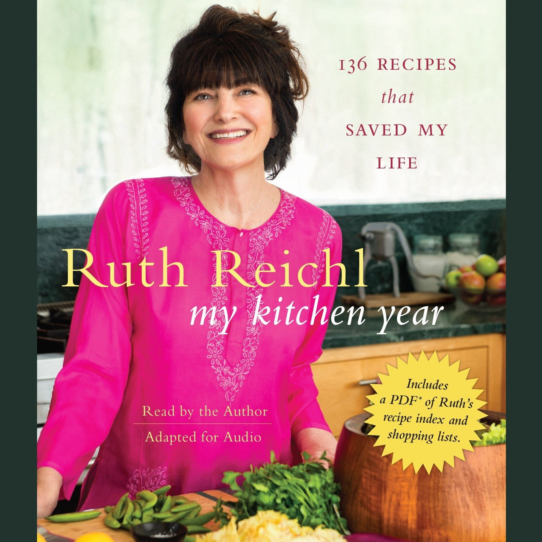 Printable My Kitchen Year: 136 Recipes That Saved My Life Audiobook Cover Art