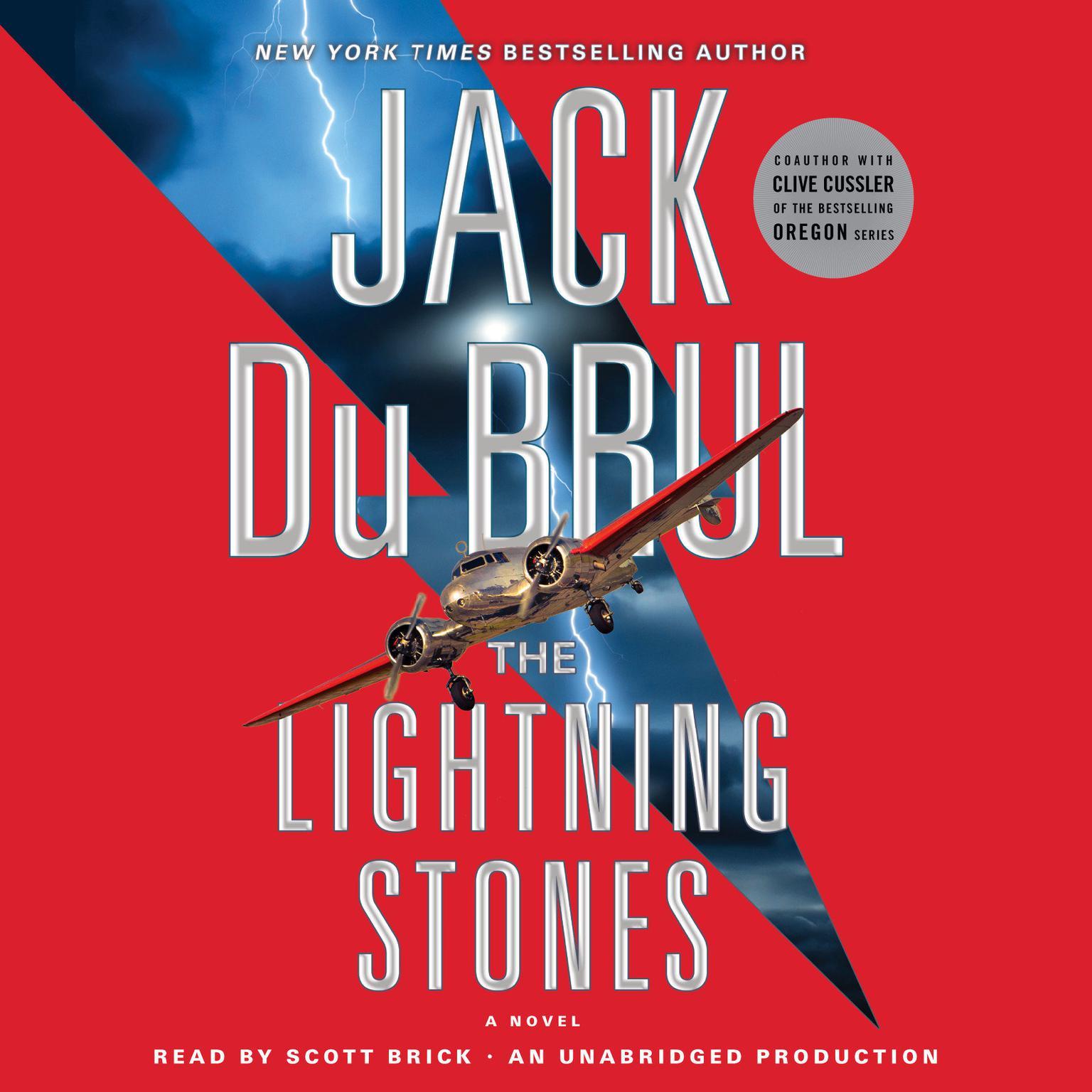 Printable The Lightning Stones: A Novel Audiobook Cover Art