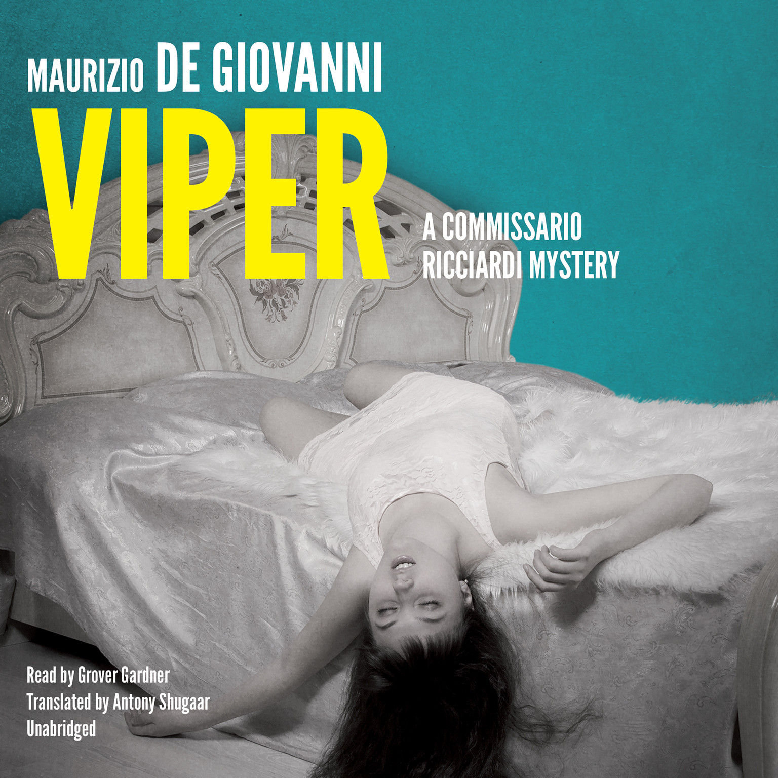 Printable Viper: No Resurrection for Commissario Ricciardi Audiobook Cover Art