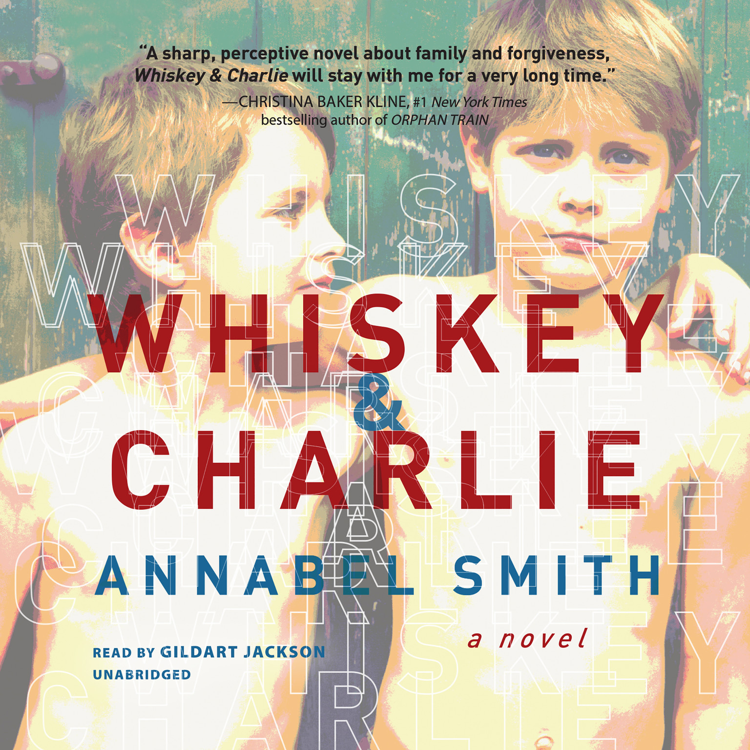 Printable Whiskey and Charlie Audiobook Cover Art