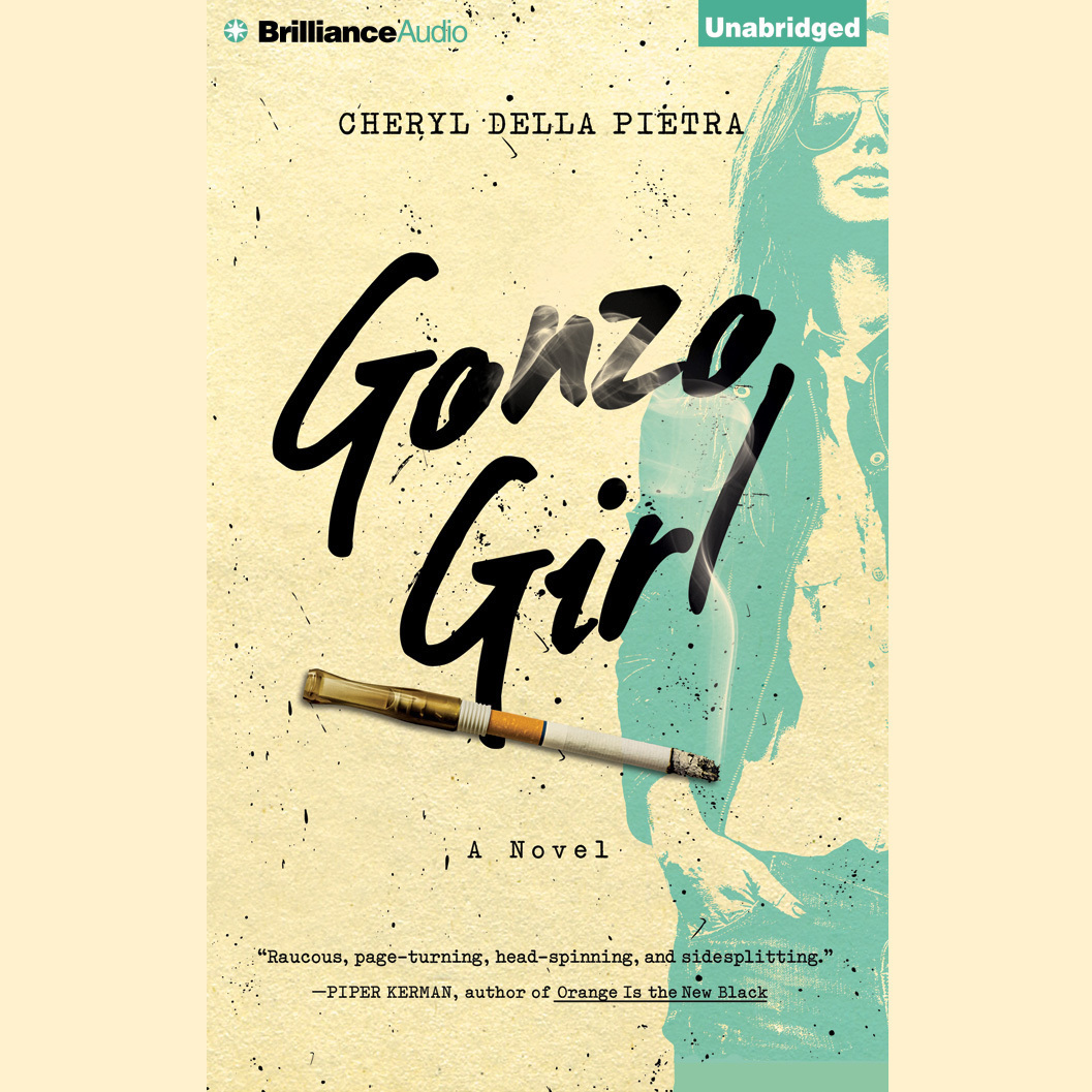 Printable Gonzo Girl: A Novel Audiobook Cover Art