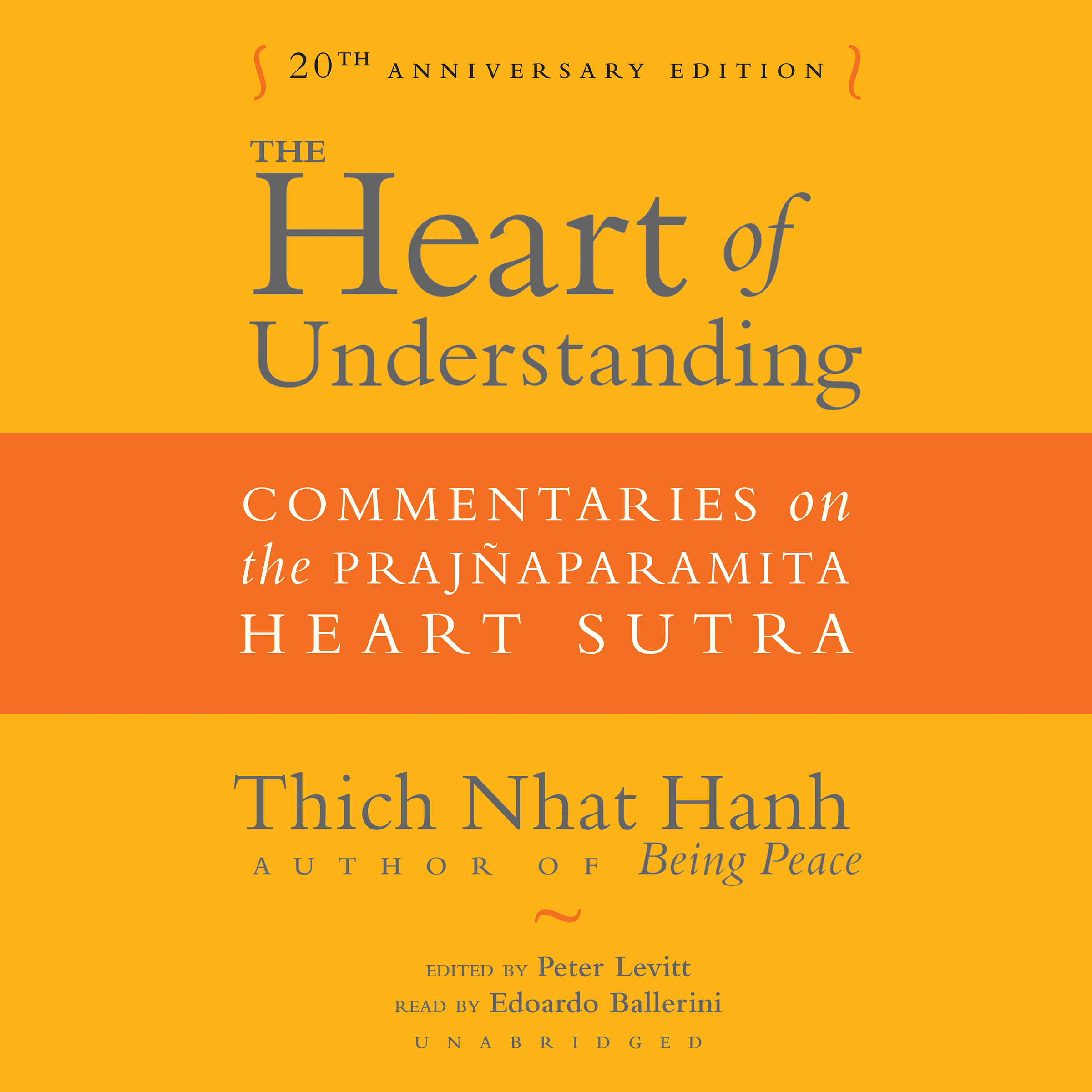 Printable The Heart of Understanding, Twentieth Anniversary Edition: Commentaries on the Prajñaparamita Heart Sutra Audiobook Cover Art