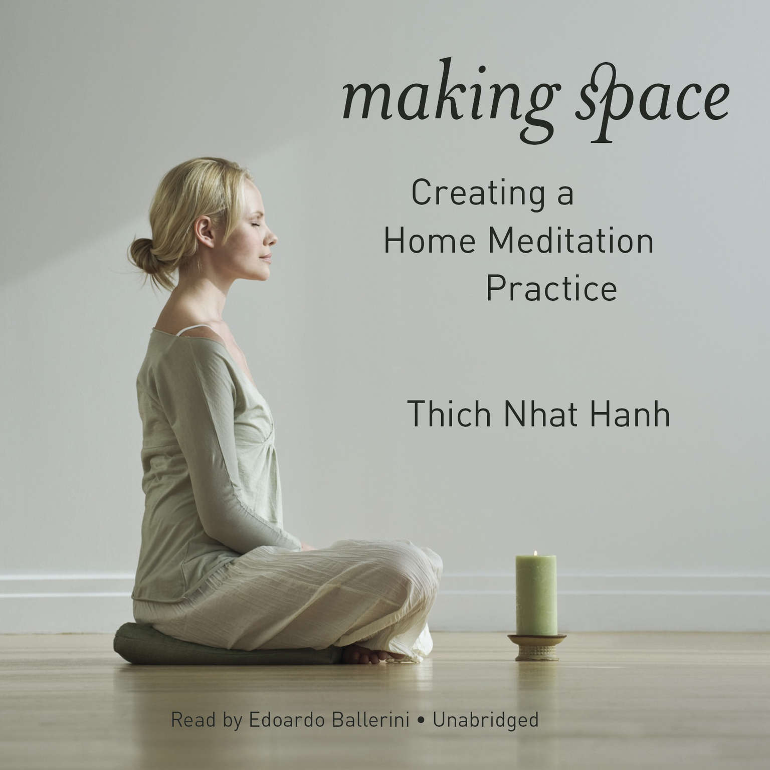 Printable Making Space: Creating a Home Meditation Practice Audiobook Cover Art
