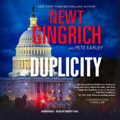 Duplicity: A Novel, by Newt Gingrich, Pete Earley
