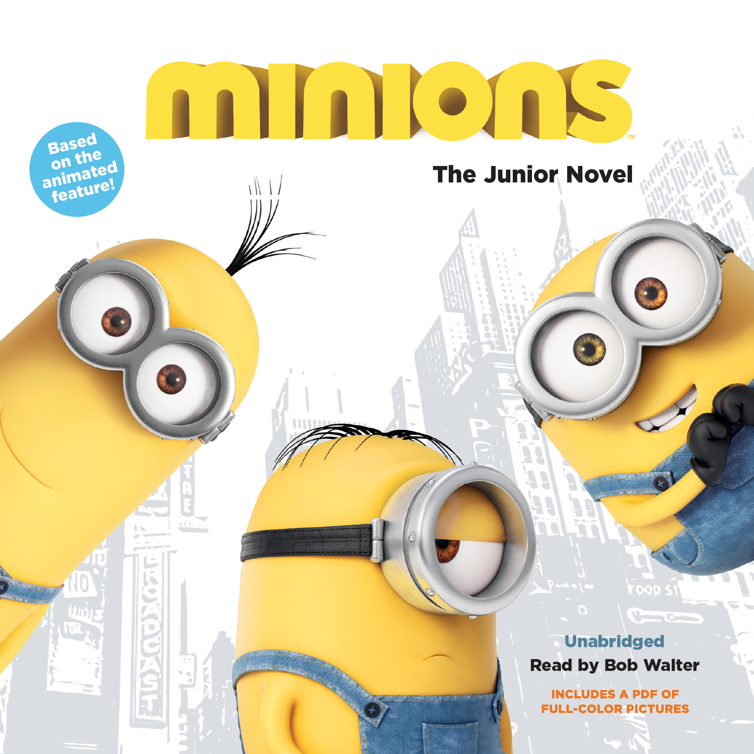 Printable Minions: The Deluxe Junior Novel Audiobook Cover Art